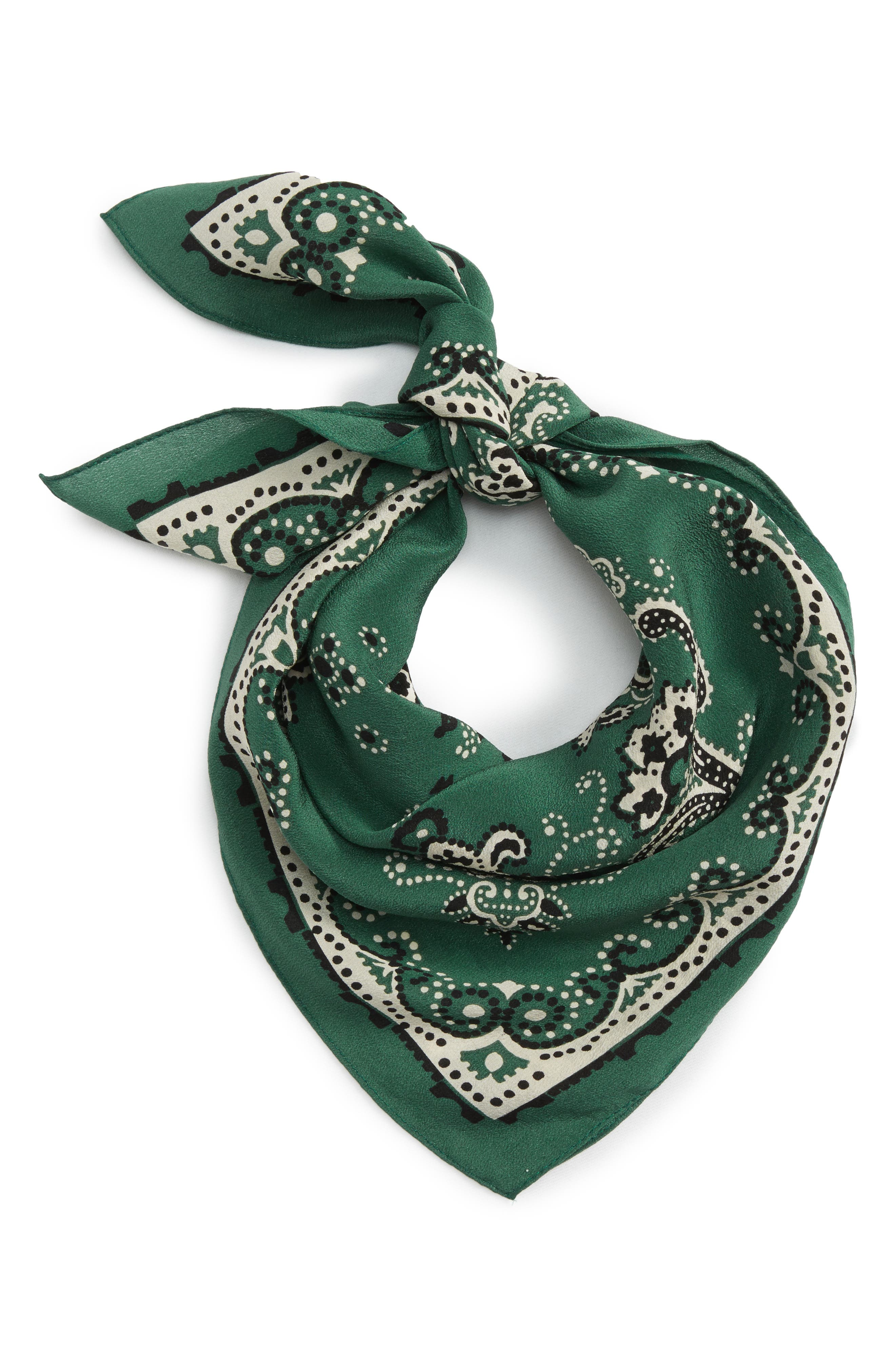 Silk Bandana,                             Main thumbnail 2, color,