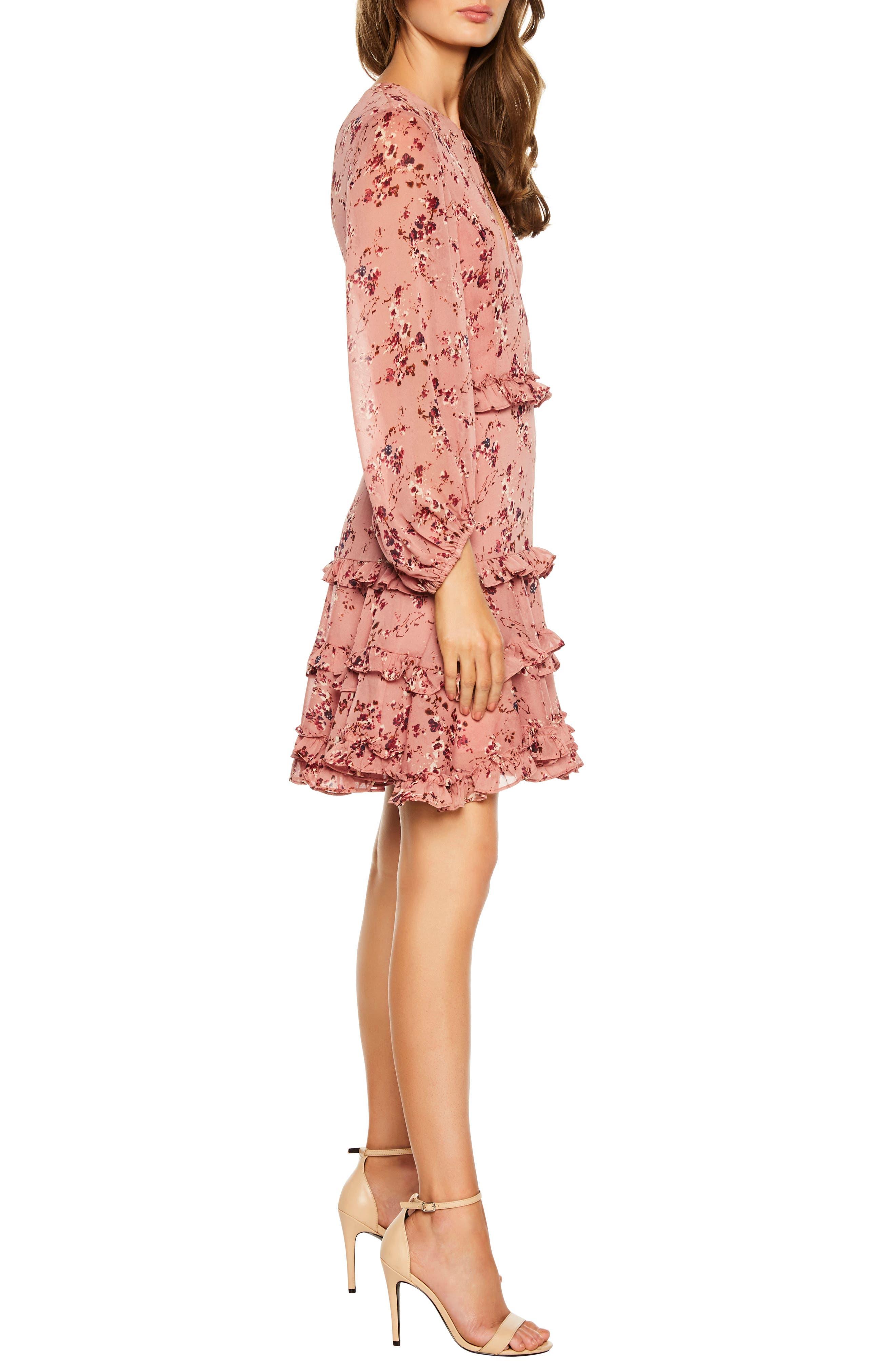 Frill Dress,                             Alternate thumbnail 3, color,                             950