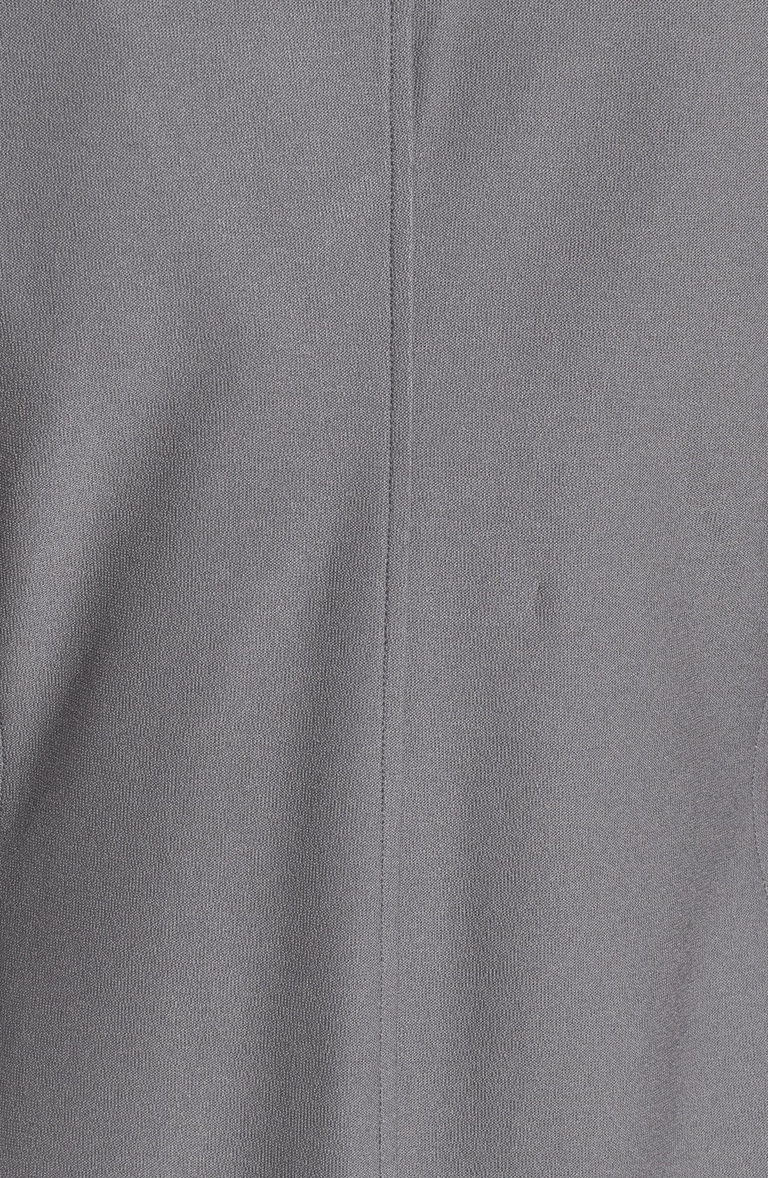 Washable Stretch Crepe Stand Collar Jacket,                             Alternate thumbnail 12, color,