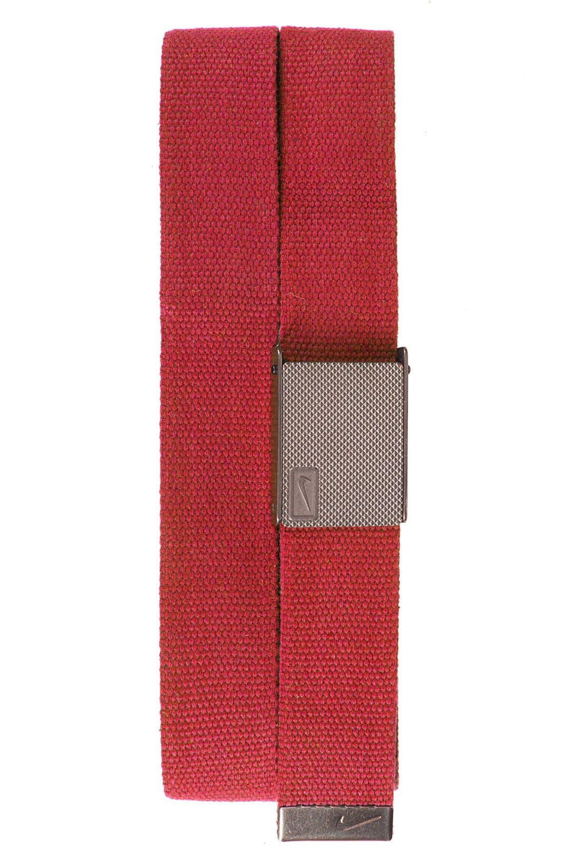 Reversible Web Belt,                             Main thumbnail 4, color,