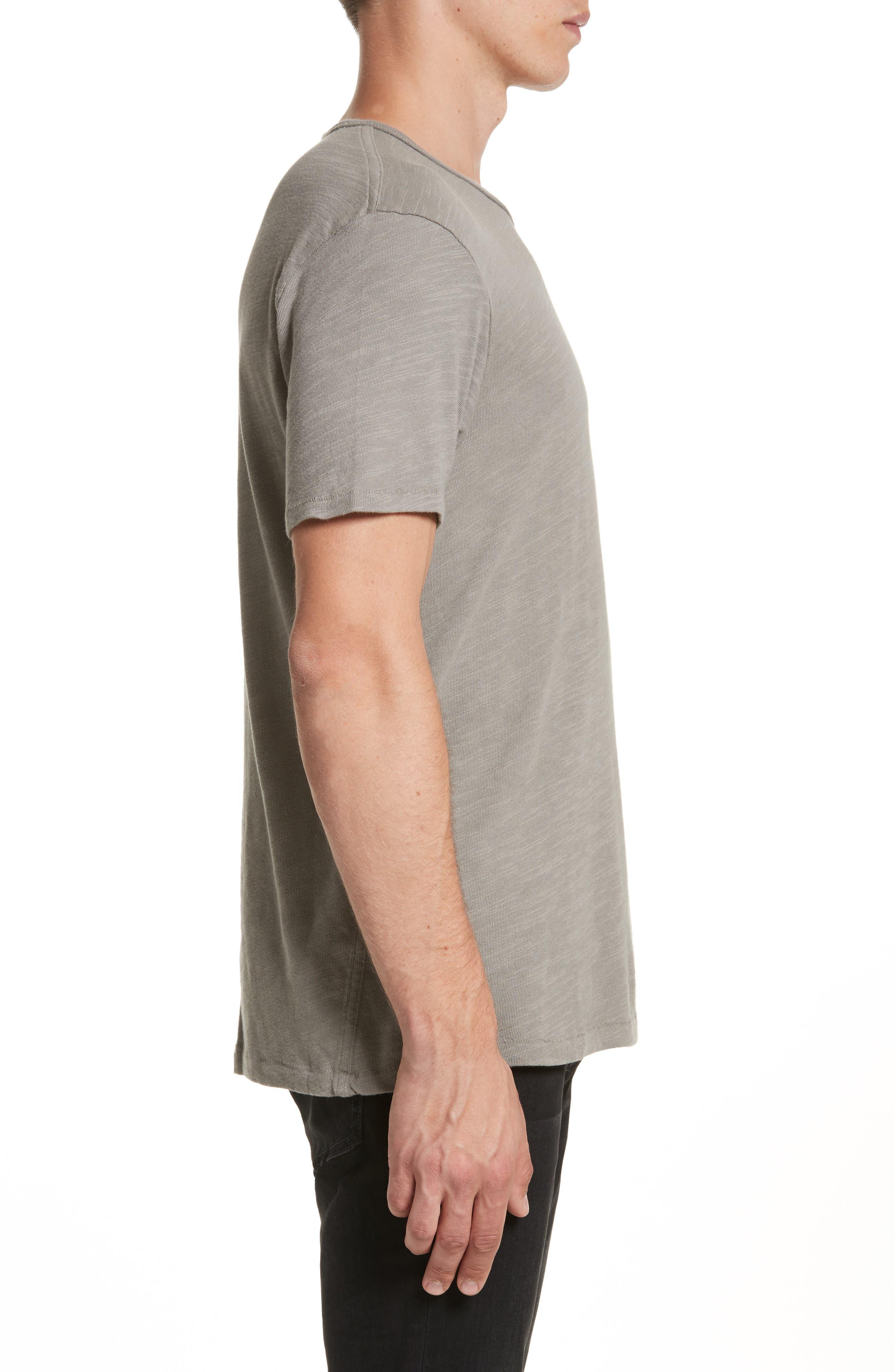 Standard Issue Slubbed Cotton T-Shirt,                             Alternate thumbnail 3, color,                             010