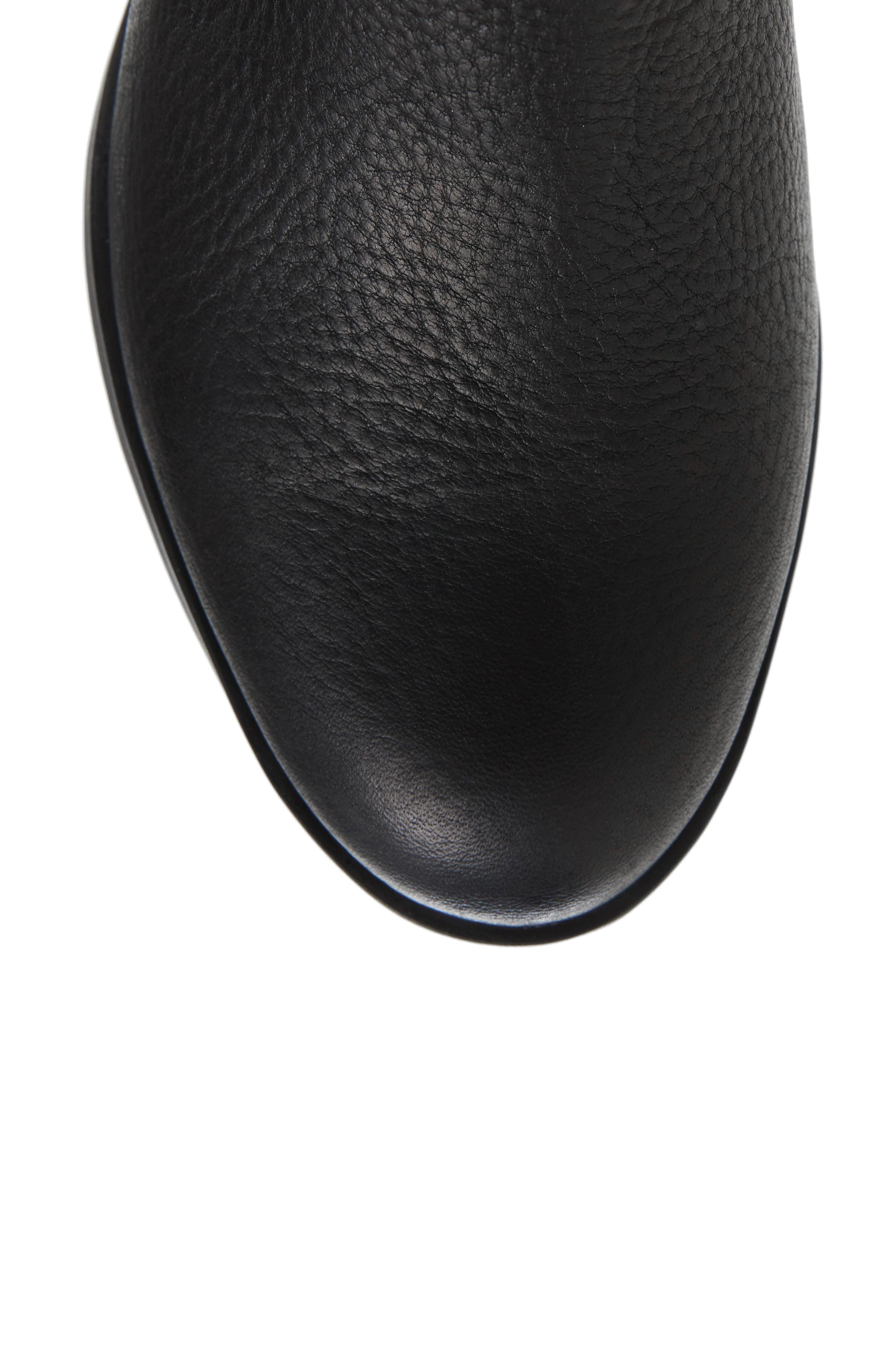 Danica Waterproof Knee High Boot,                             Alternate thumbnail 5, color,                             010