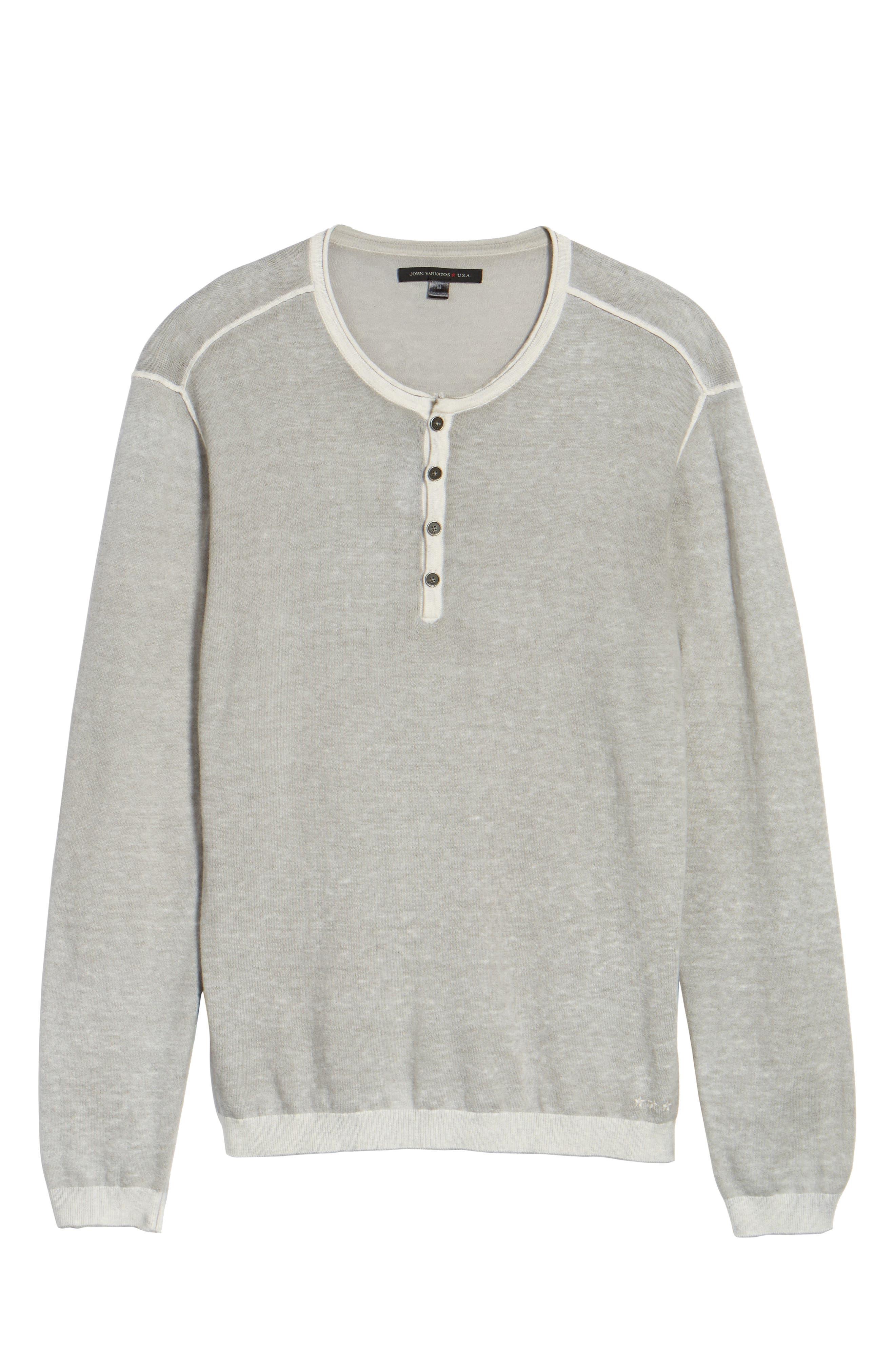 Henley Sweater,                             Alternate thumbnail 6, color,                             137