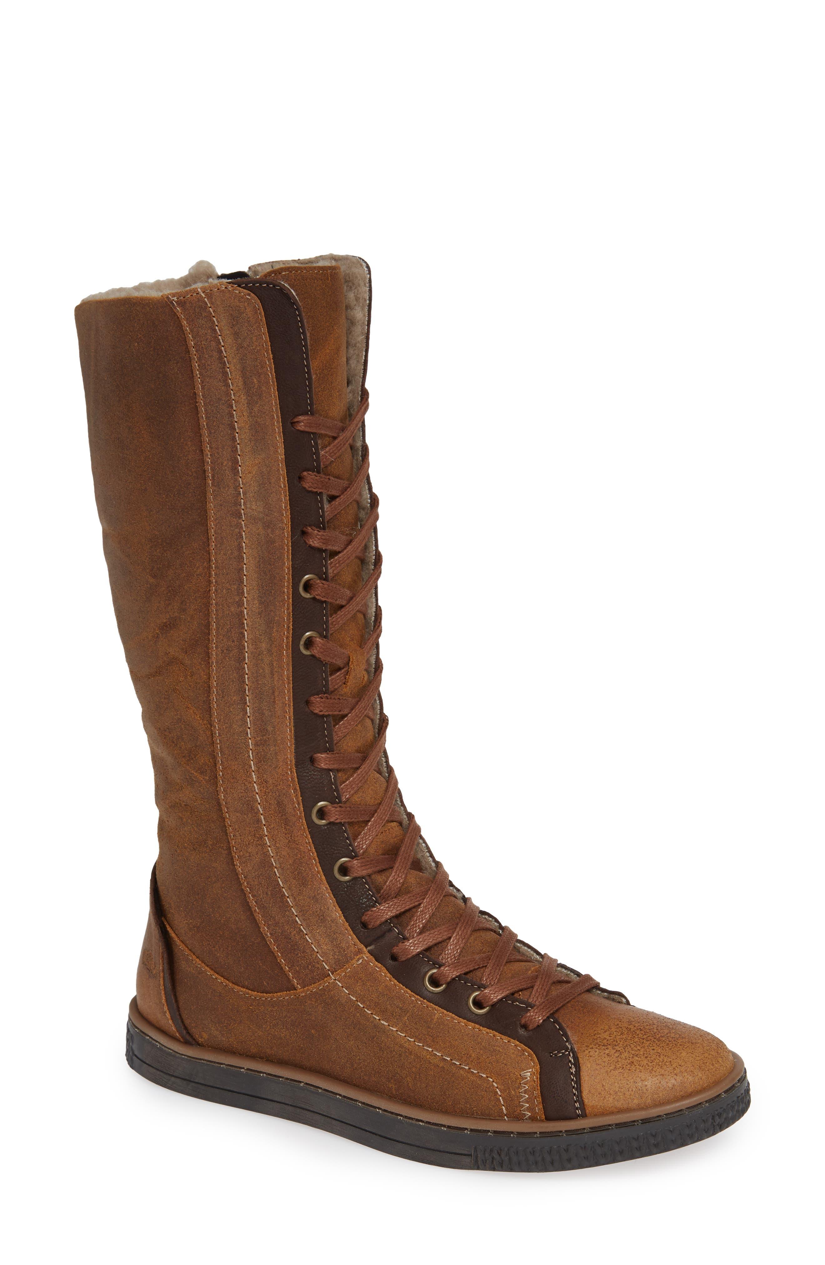 Cloud Nirvana Wool Lined Boot, Brown