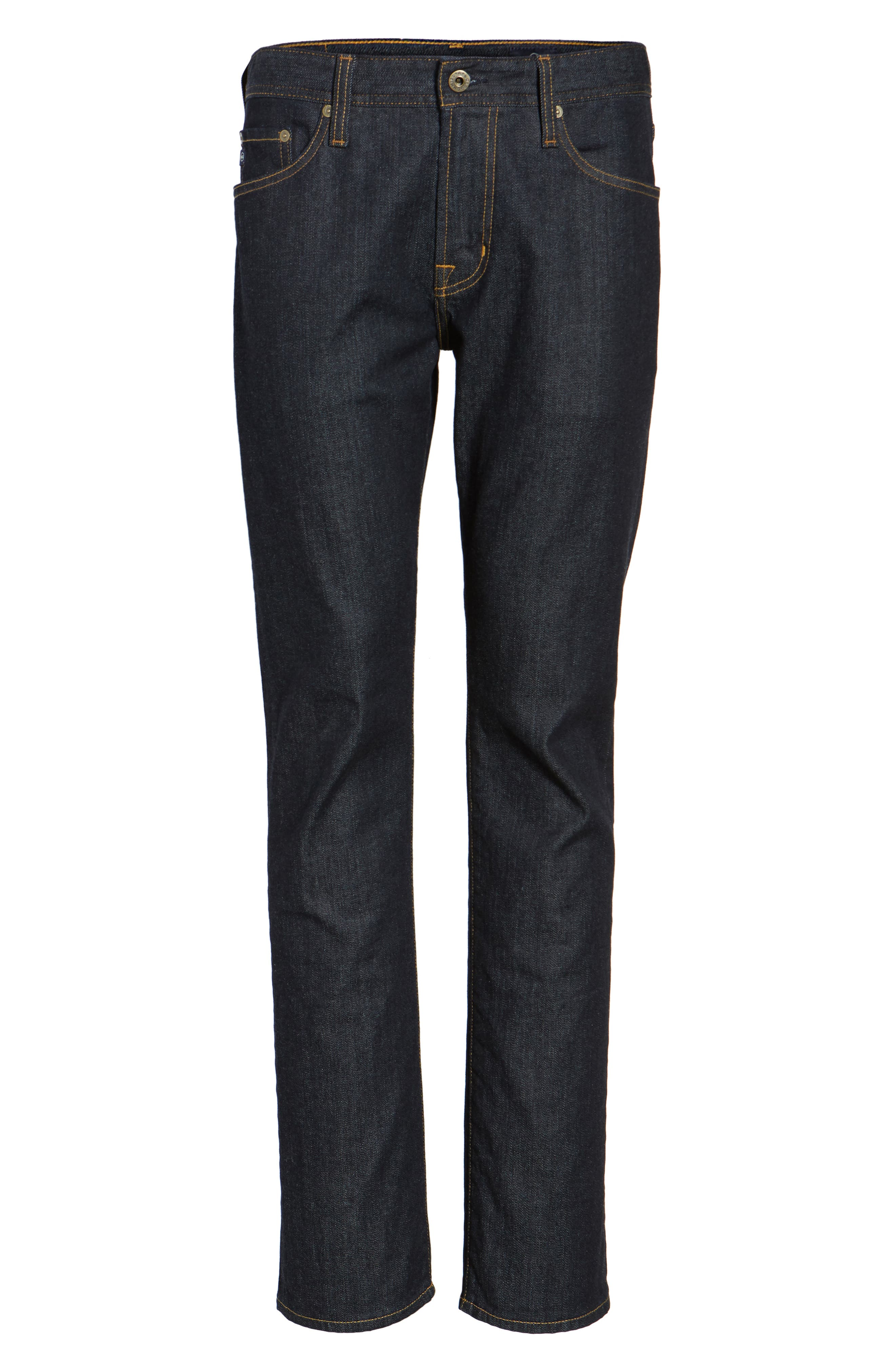Everett Slim Straight Leg Jeans,                             Alternate thumbnail 6, color,                             HIGHWAY