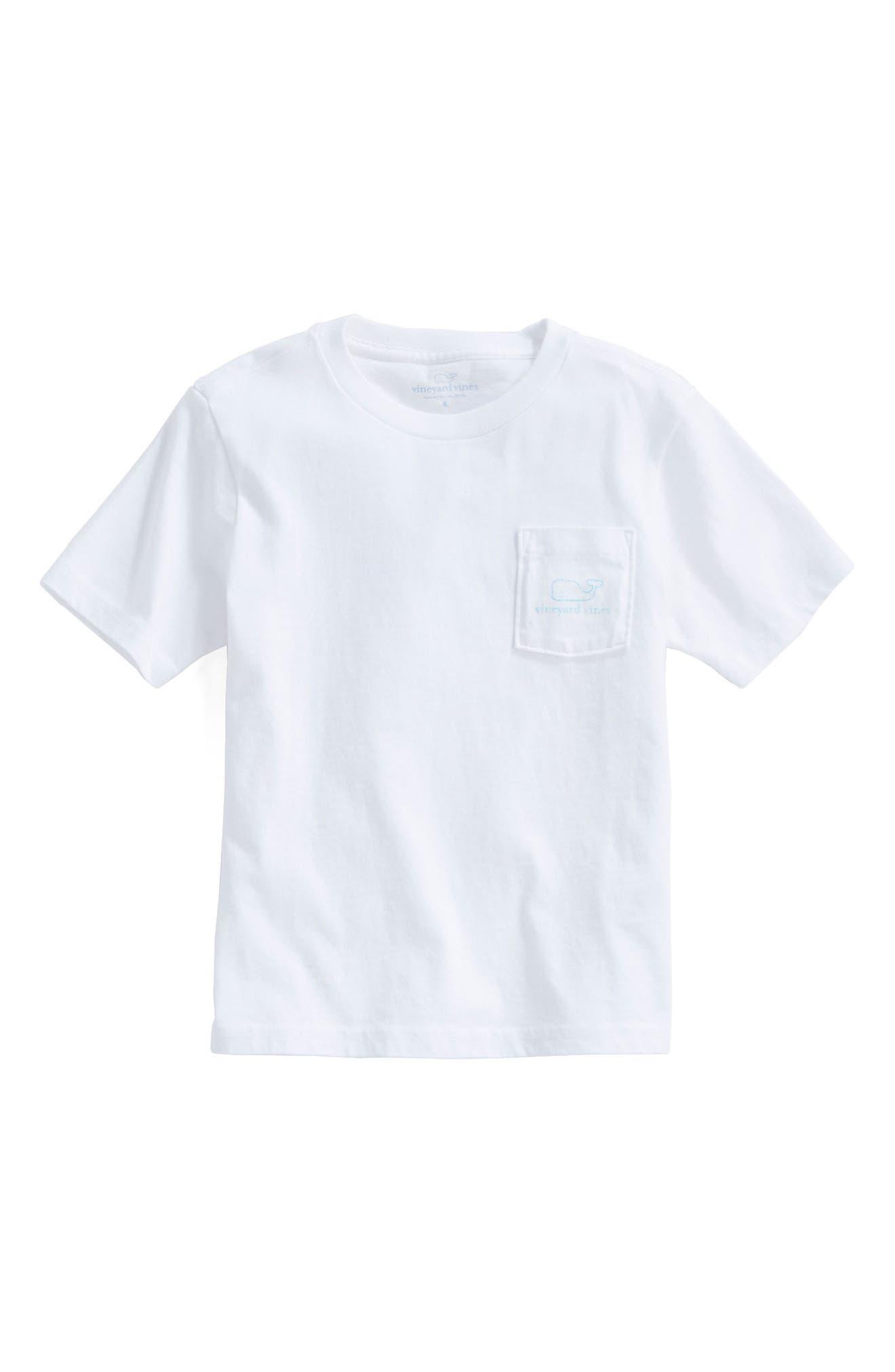 Whale T-Shirt,                             Alternate thumbnail 3, color,                             WHITE CAP