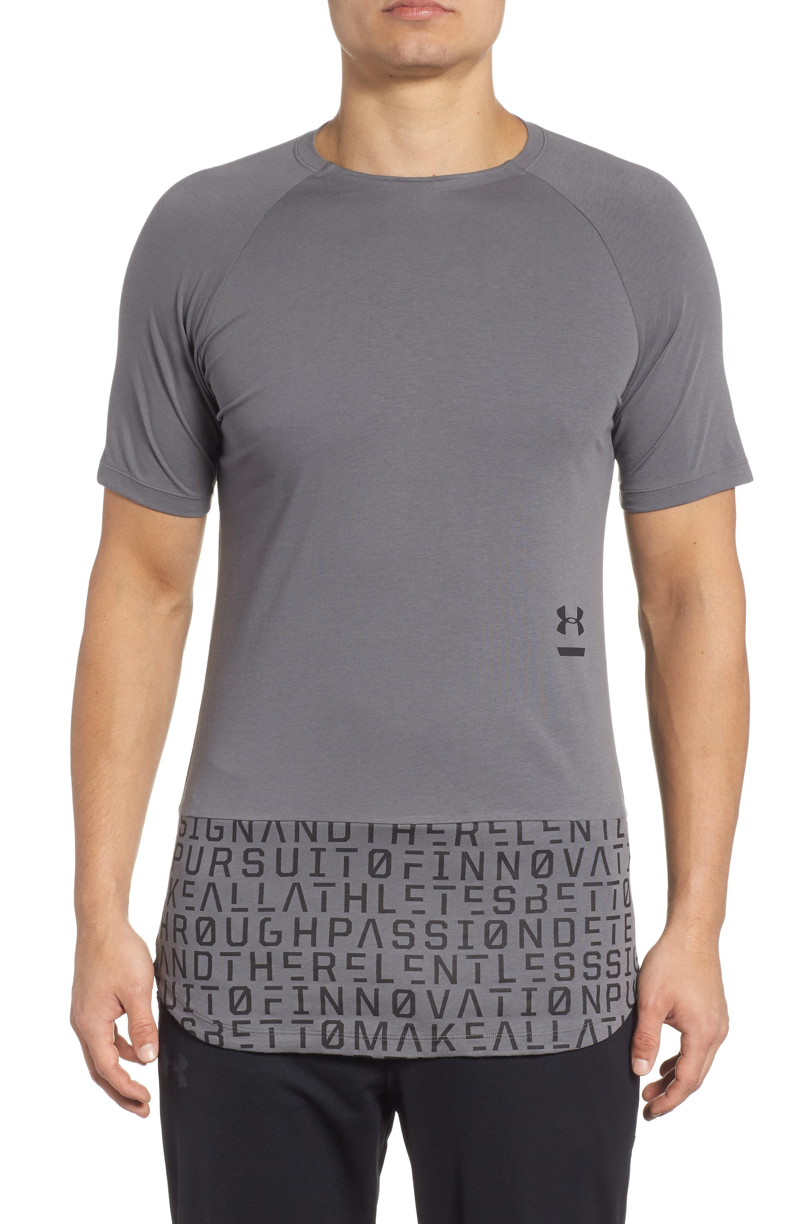 Perpetual Graphic T-Shirt,                             Main thumbnail 1, color,                             GRAPHITE
