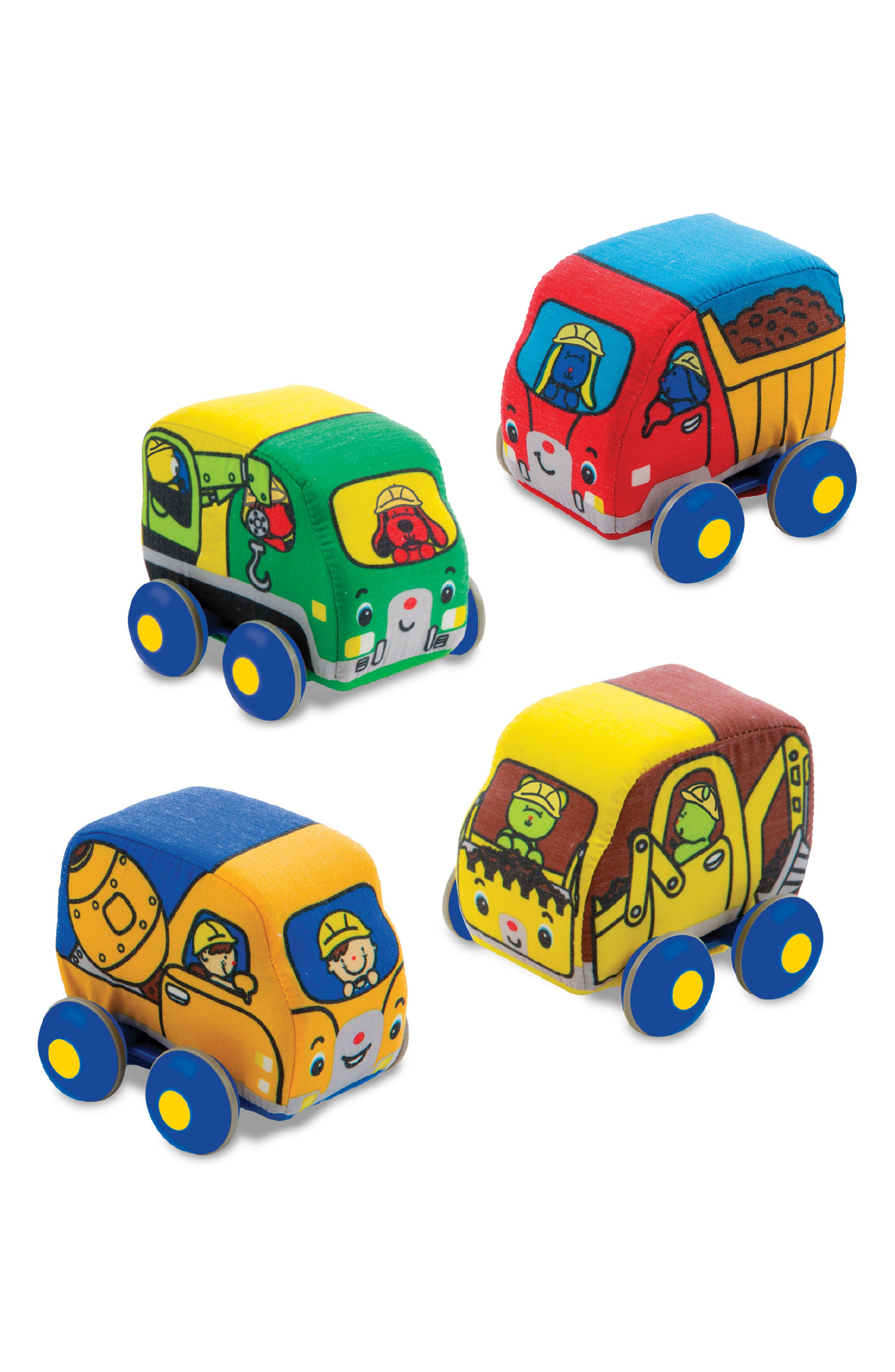 4-Pack Pull Back Construction Vehicle Play Set,                             Alternate thumbnail 2, color,                             700