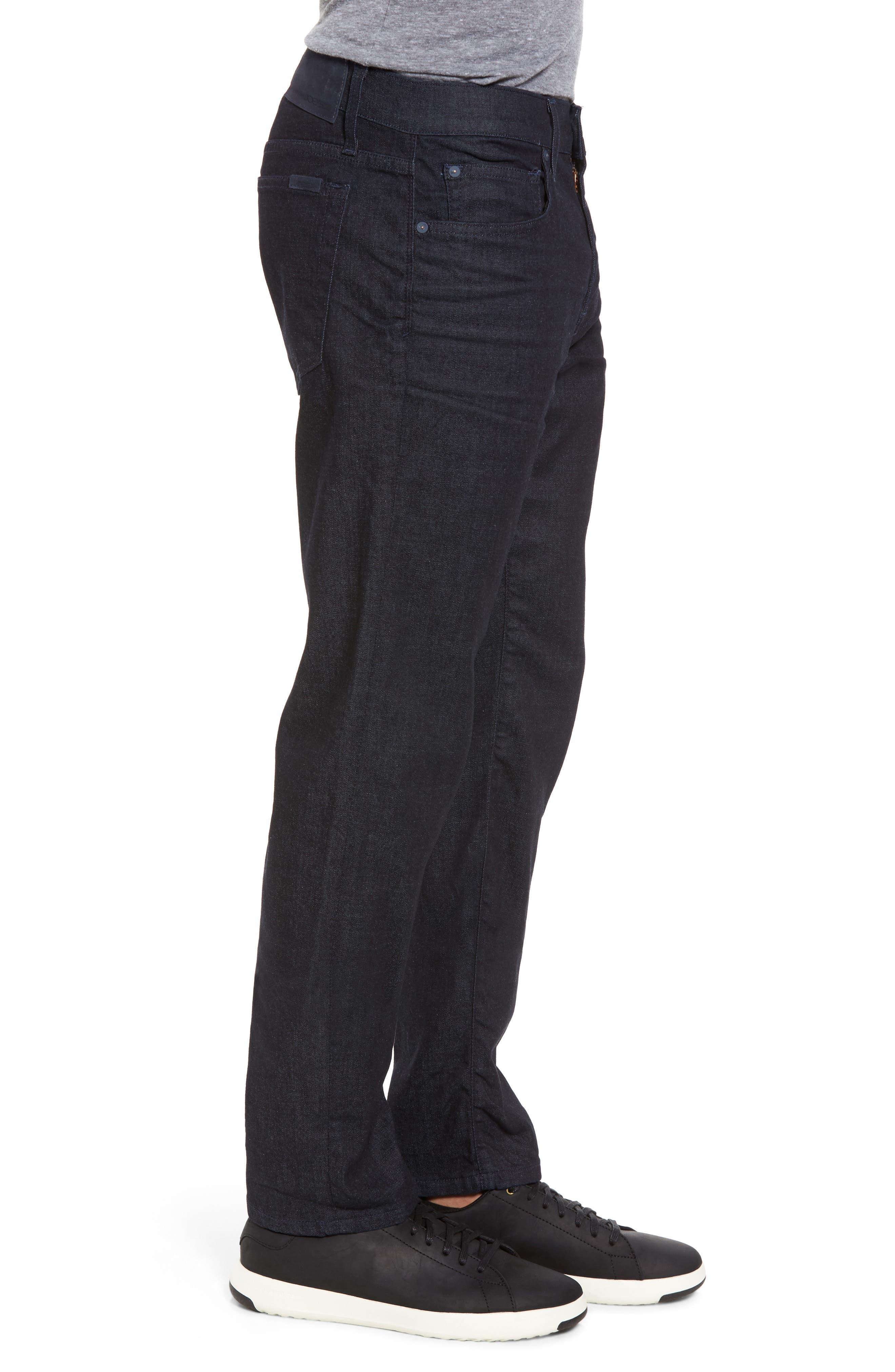 Brixton Slim Straight Fit Jeans,                             Alternate thumbnail 3, color,
