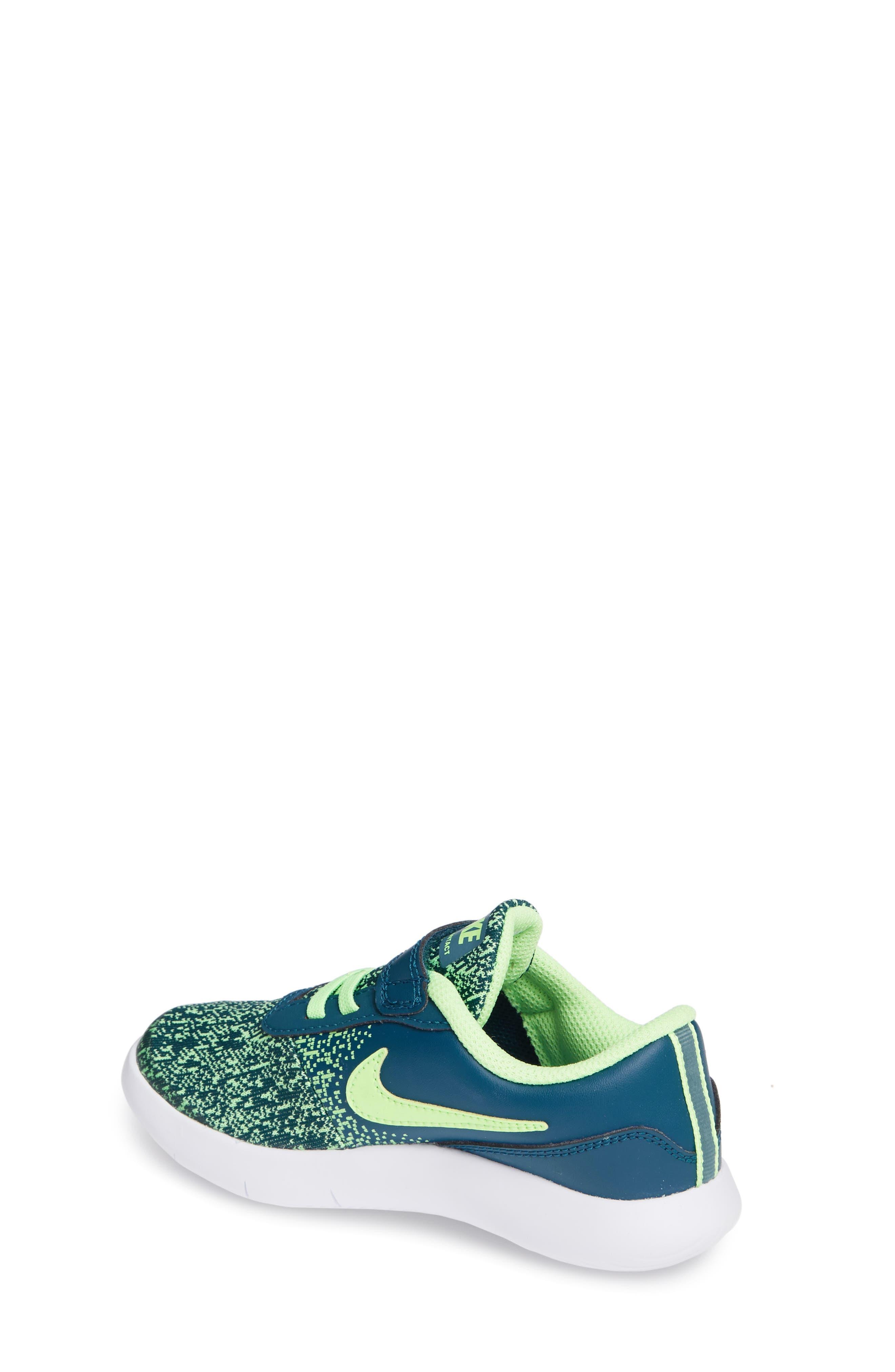 NIKE,                             Flex Contact Running Shoe,                             Alternate thumbnail 2, color,                             BLUE FORCE/ LIME BLAST