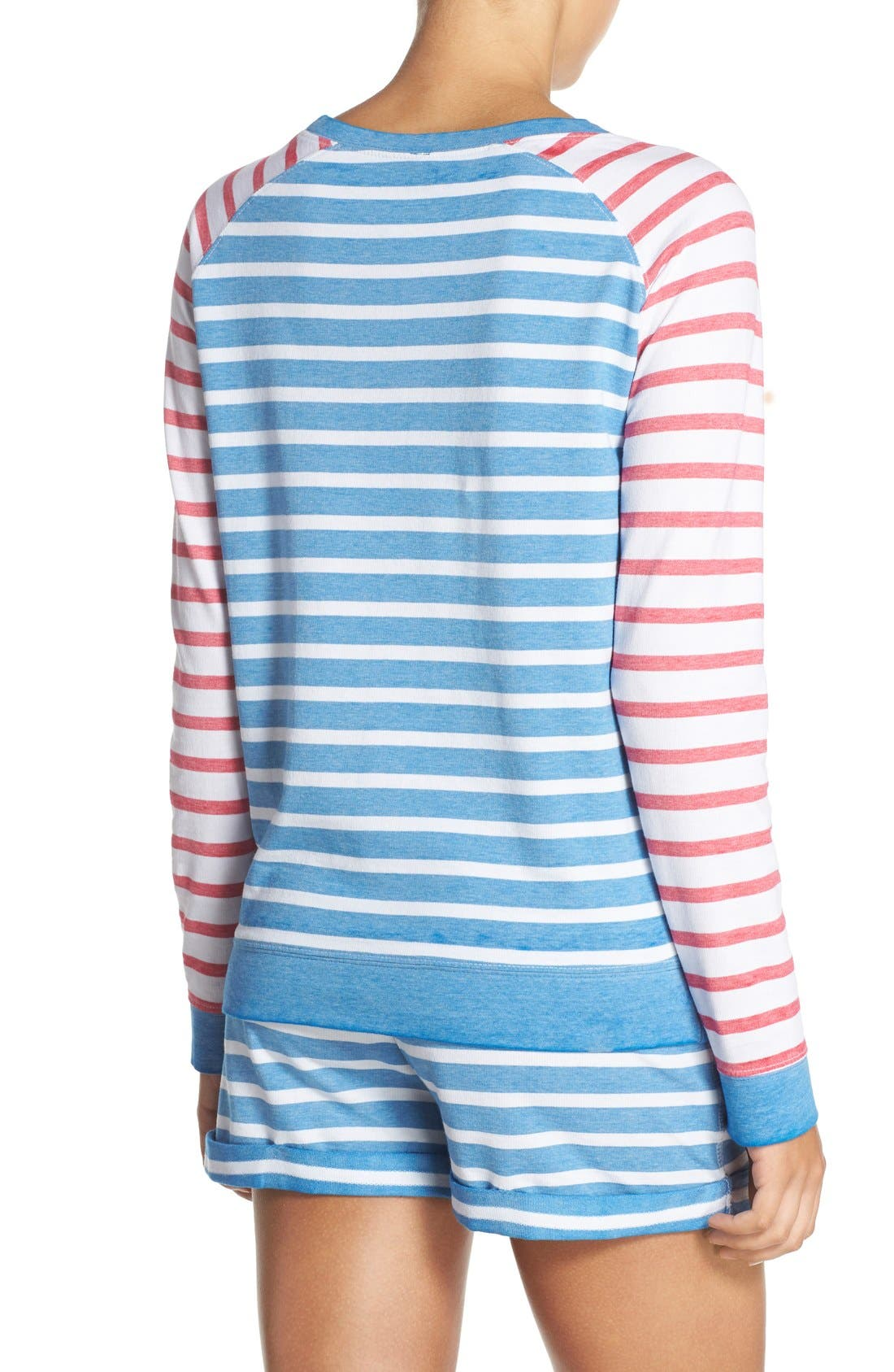 Burnout Lounge Sweatshirt,                             Alternate thumbnail 283, color,