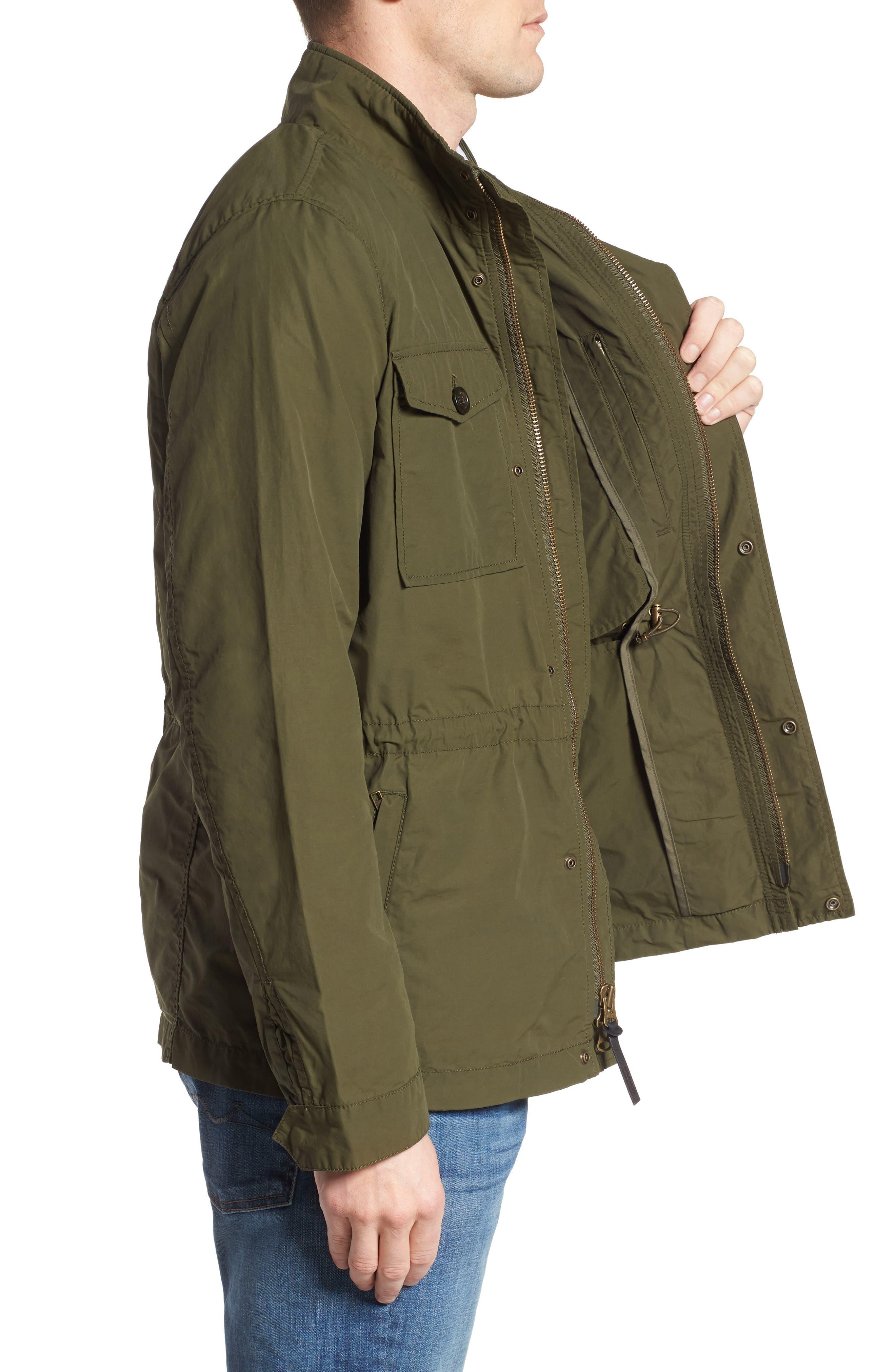 Military Field Jacket,                             Alternate thumbnail 3, color,                             313