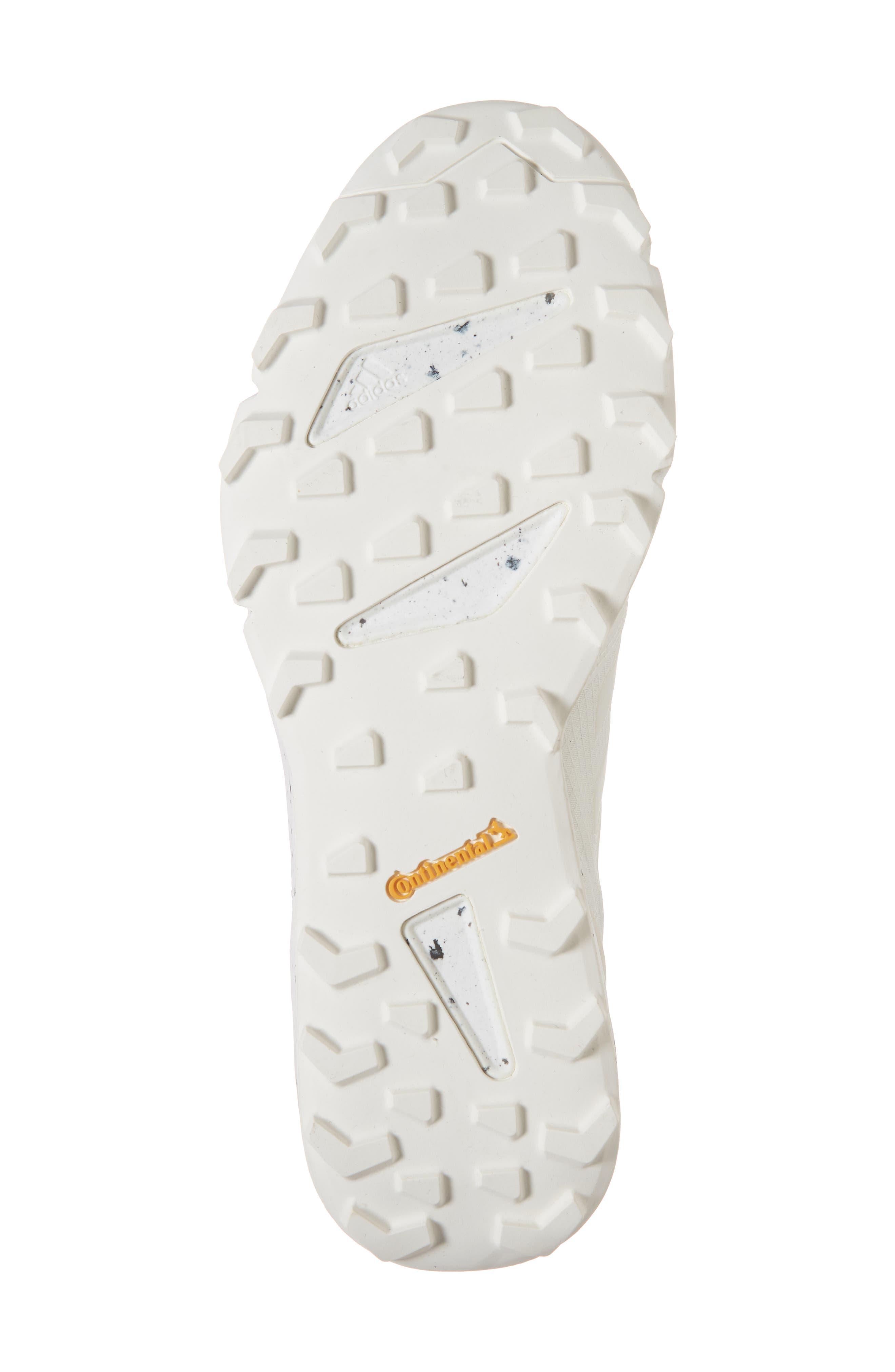 Terrex Agravic Speed Running Shoe,                             Alternate thumbnail 6, color,                             NON-DYED/ WHITE/ CHALK WHITE