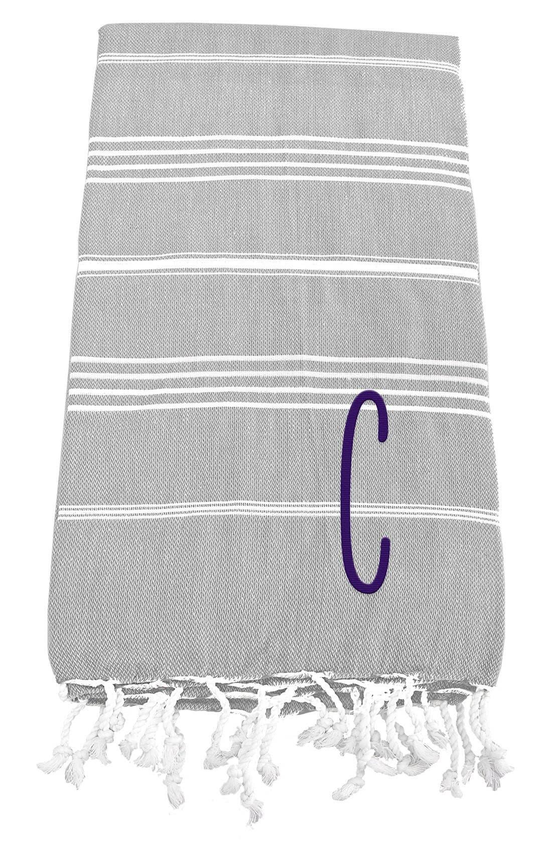 Monogram Turkish Cotton Towel,                             Main thumbnail 5, color,