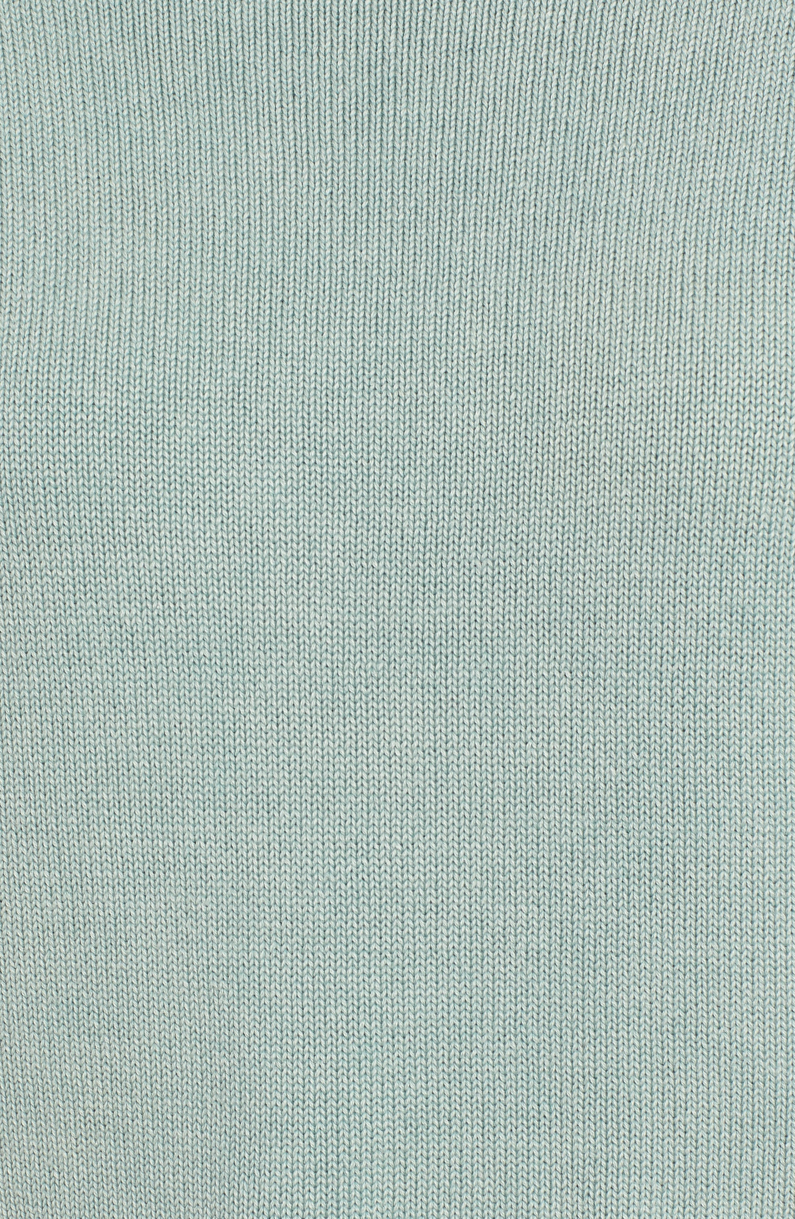 Exposed Seam Sweater,                             Alternate thumbnail 5, color,                             SEA WASH