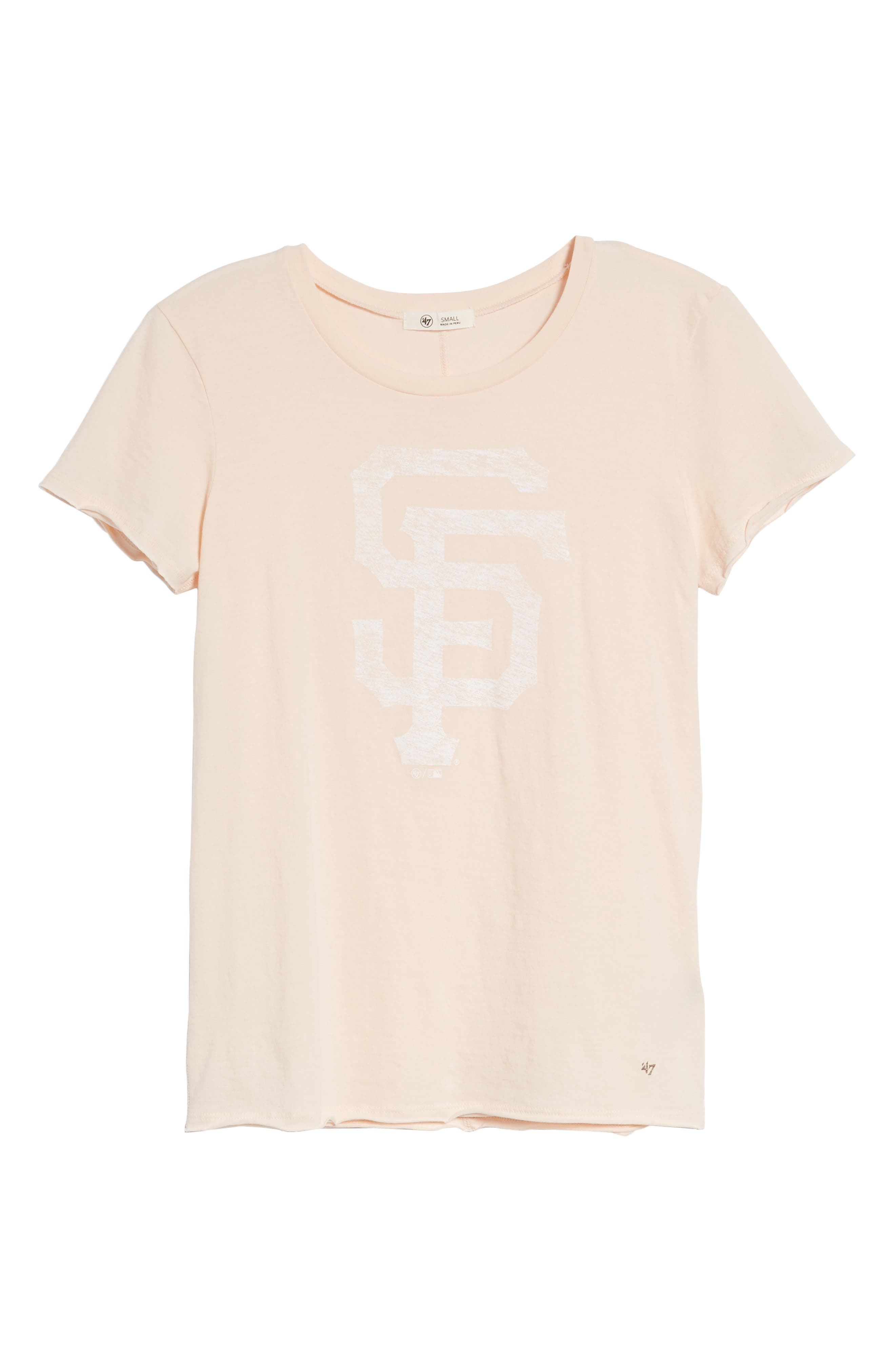 San Francisco Giants Fader Letter Tee,                             Alternate thumbnail 7, color,                             650