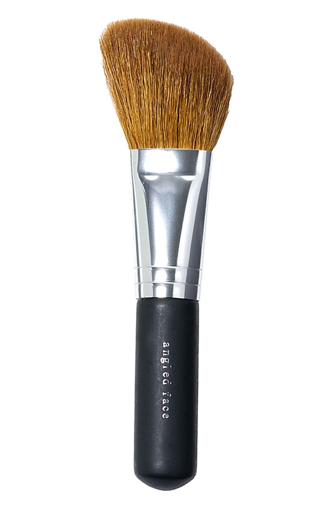 Angled Face Brush,                             Main thumbnail 1, color,                             000