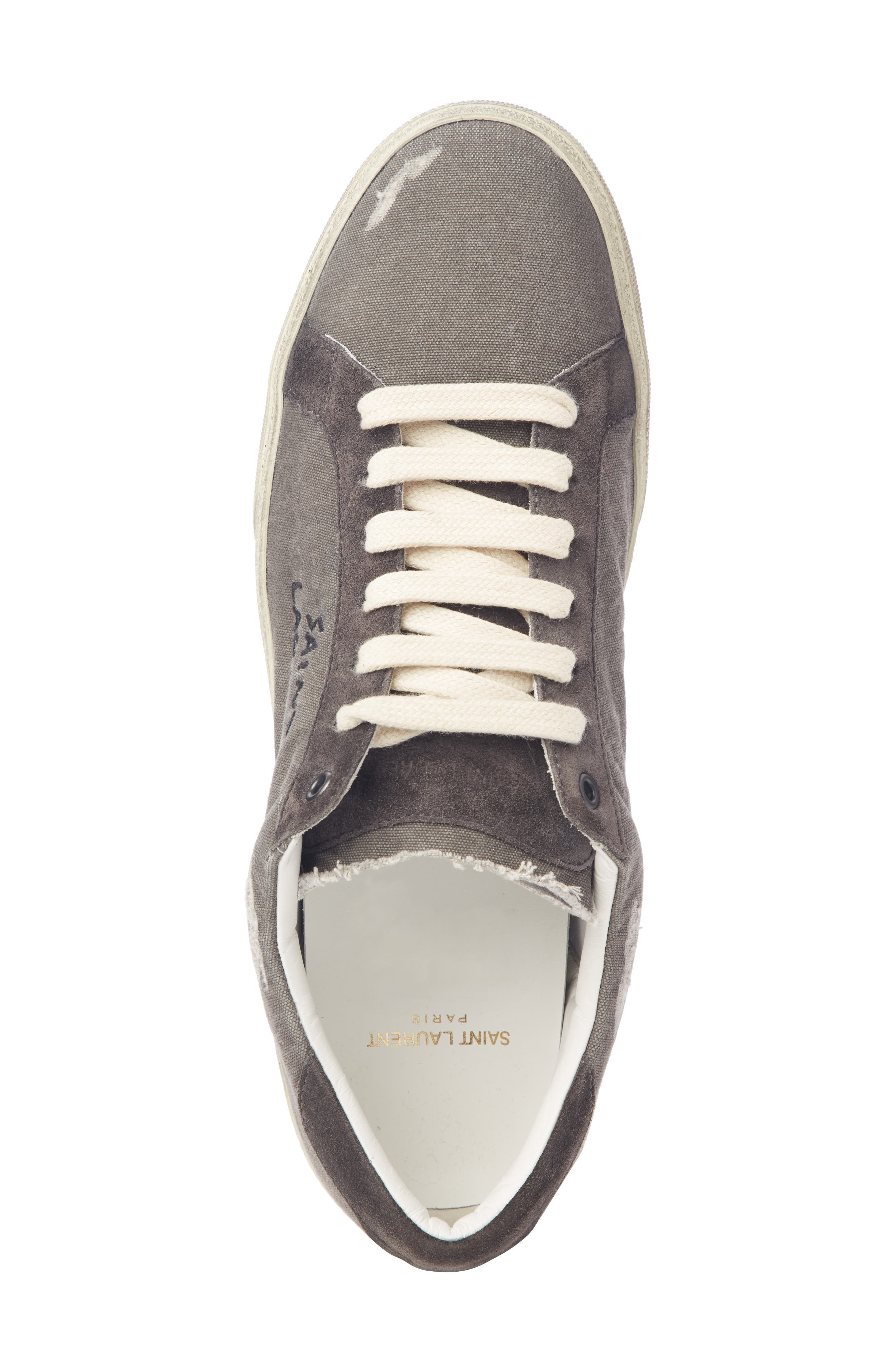 Low Top Sneaker,                             Alternate thumbnail 4, color,                             076