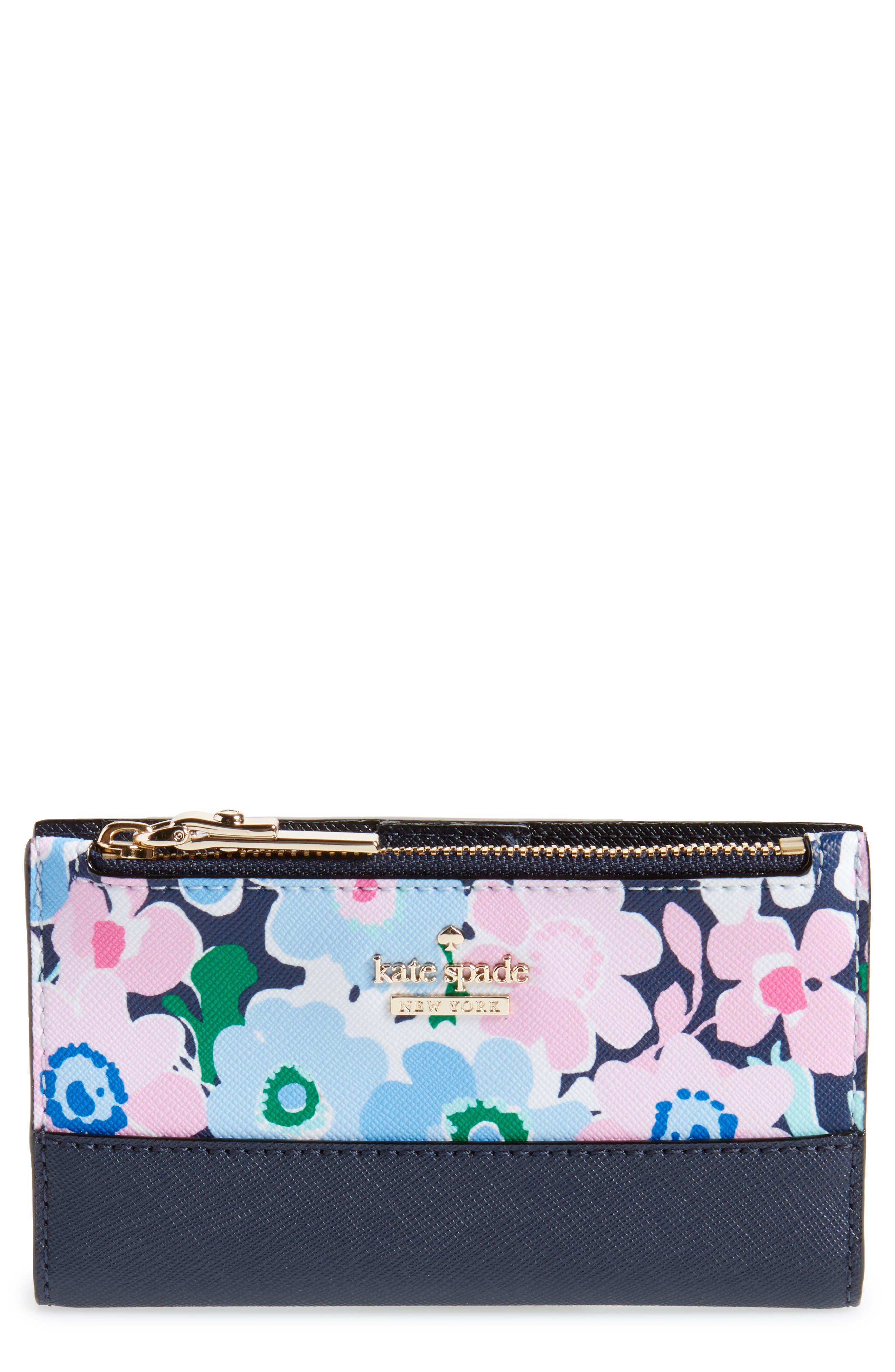 cameron street - daisy garden wallet,                             Main thumbnail 1, color,
