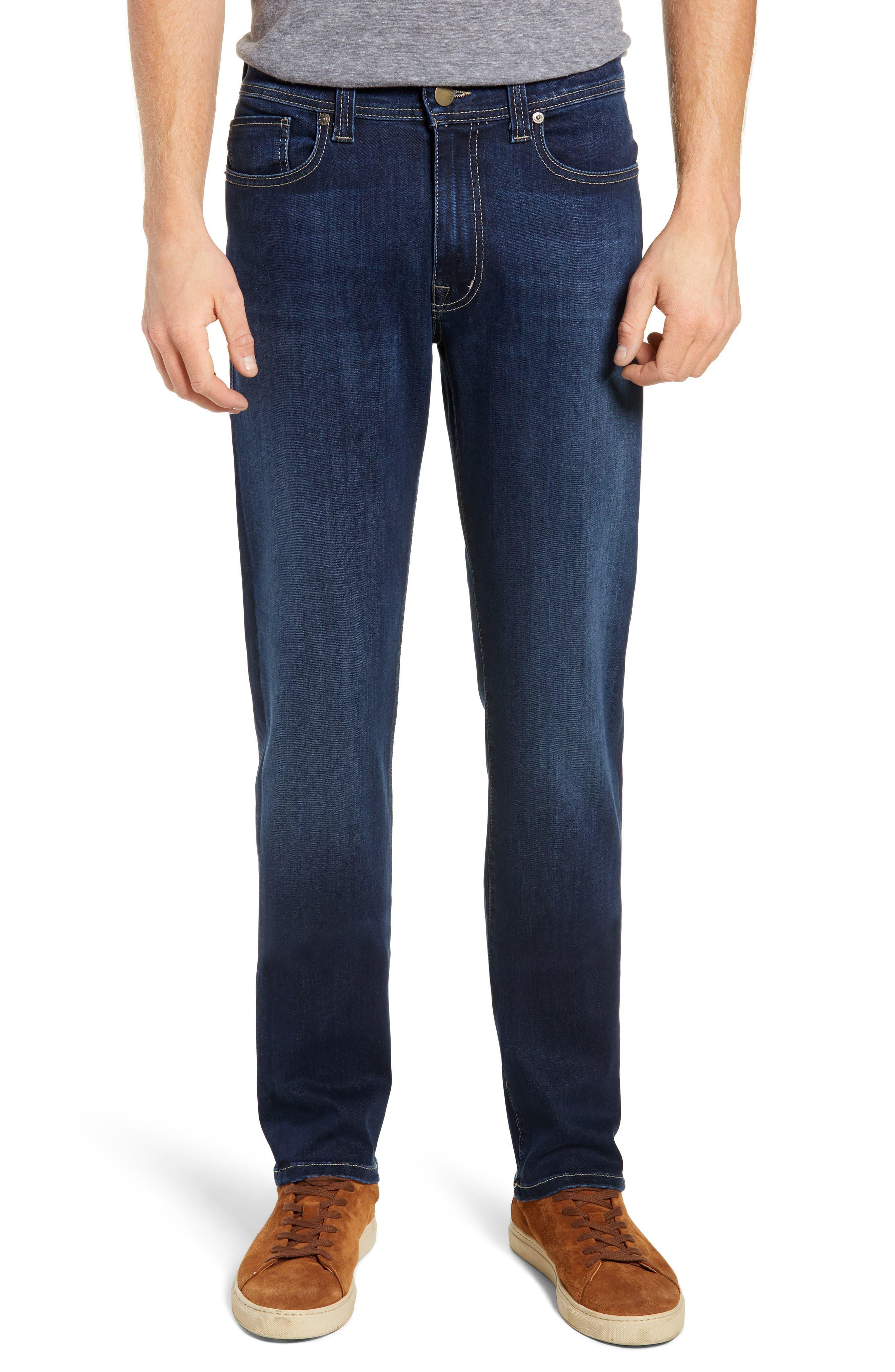 Jimmy Slim Straight Leg Jeans,                             Main thumbnail 1, color,                             STRIKER