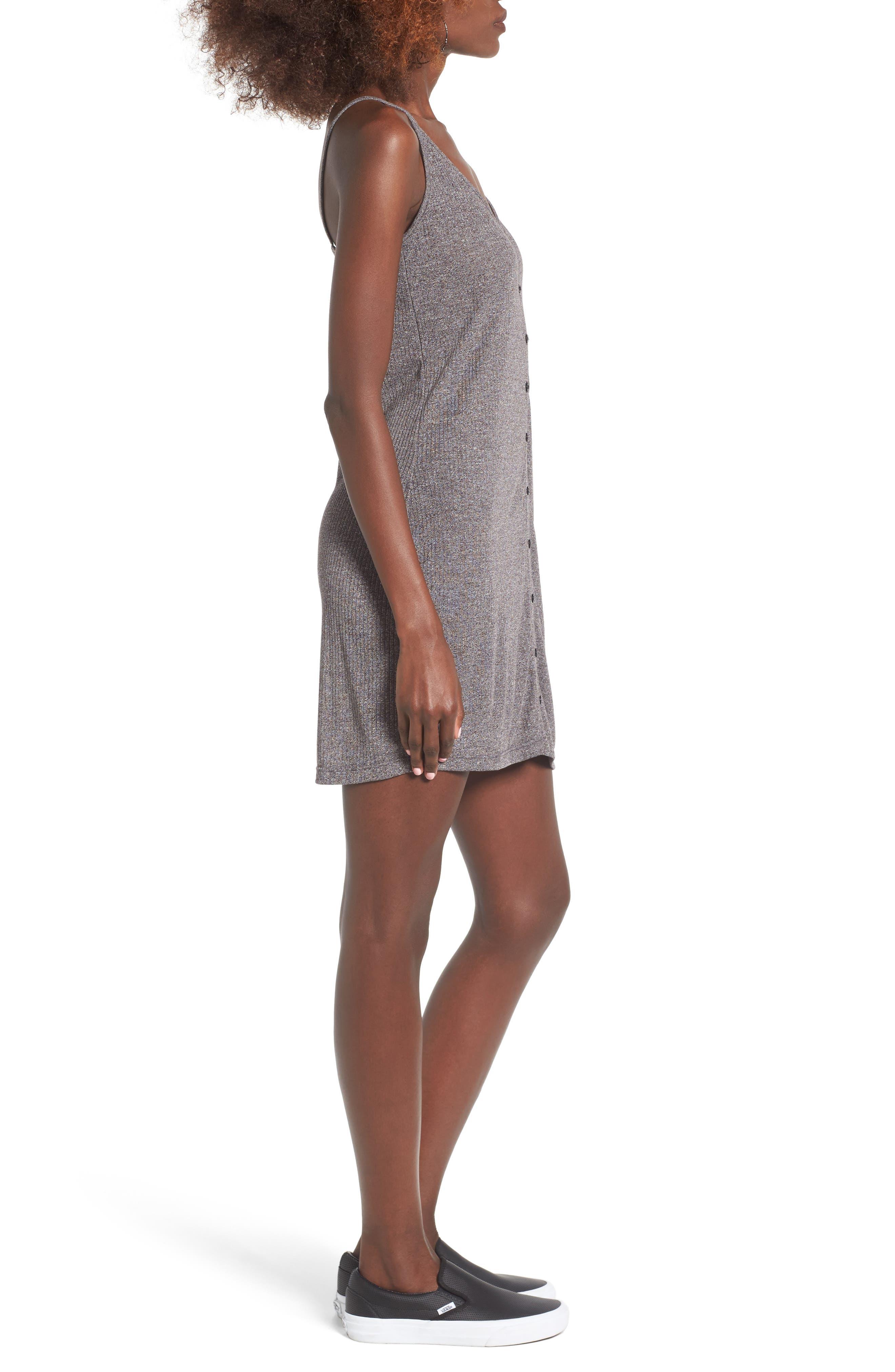 Barbados Rib Knit Dress,                             Alternate thumbnail 3, color,                             020