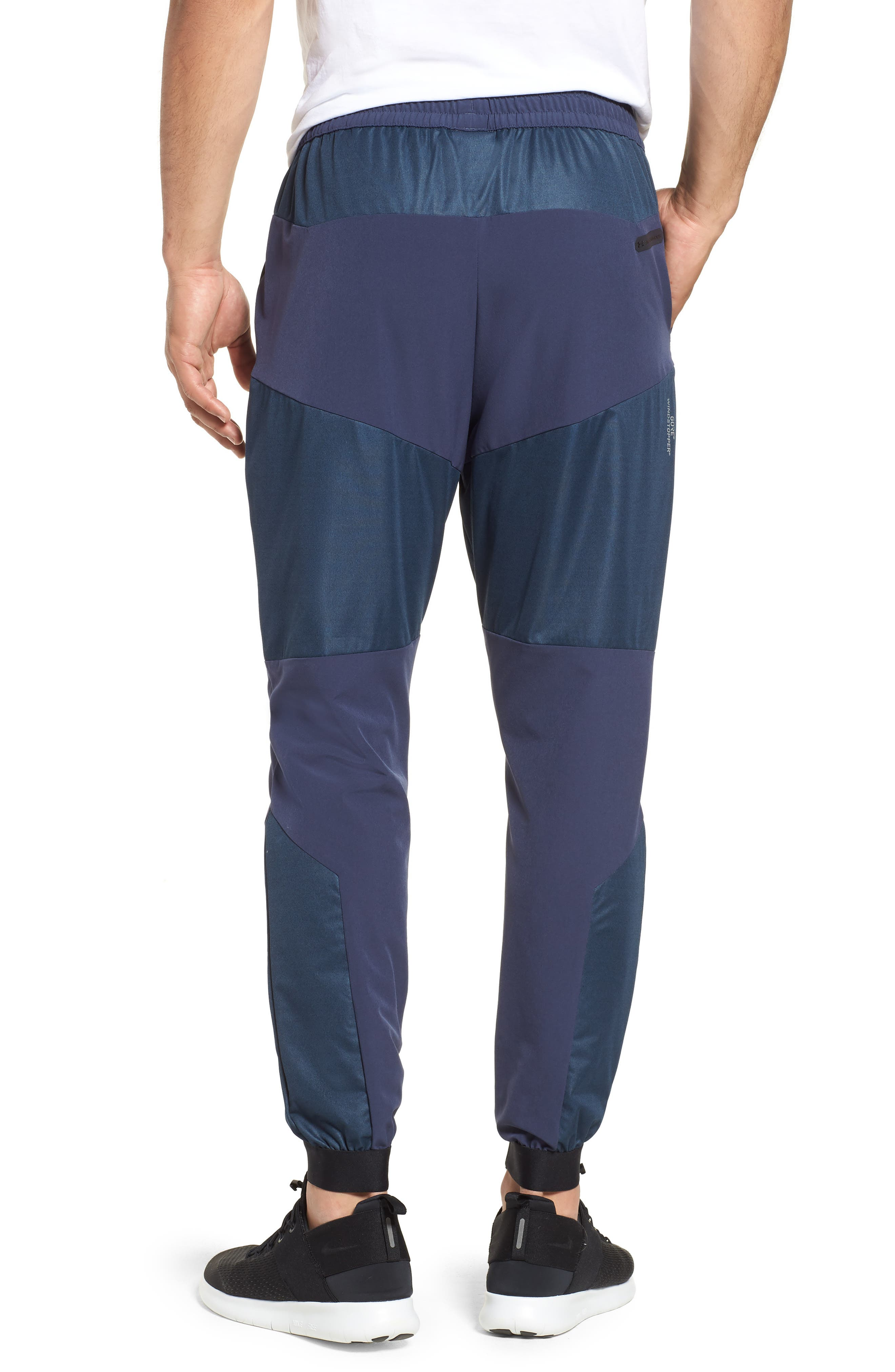 Unstoppable GORE<sup>®</sup> WINDSTOPPER<sup>®</sup> Jogger Pants,                             Alternate thumbnail 2, color,                             MIDSUMMER NIGHT / REFLECTIVE