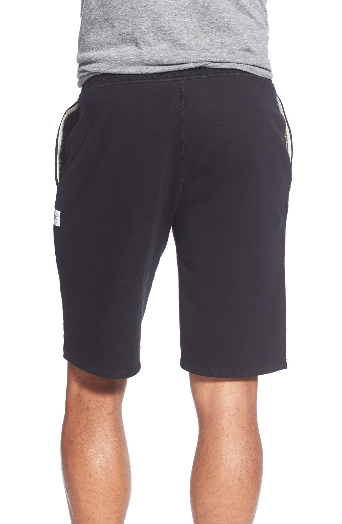 Terry Cotton Sweat Shorts,                             Alternate thumbnail 5, color,                             001