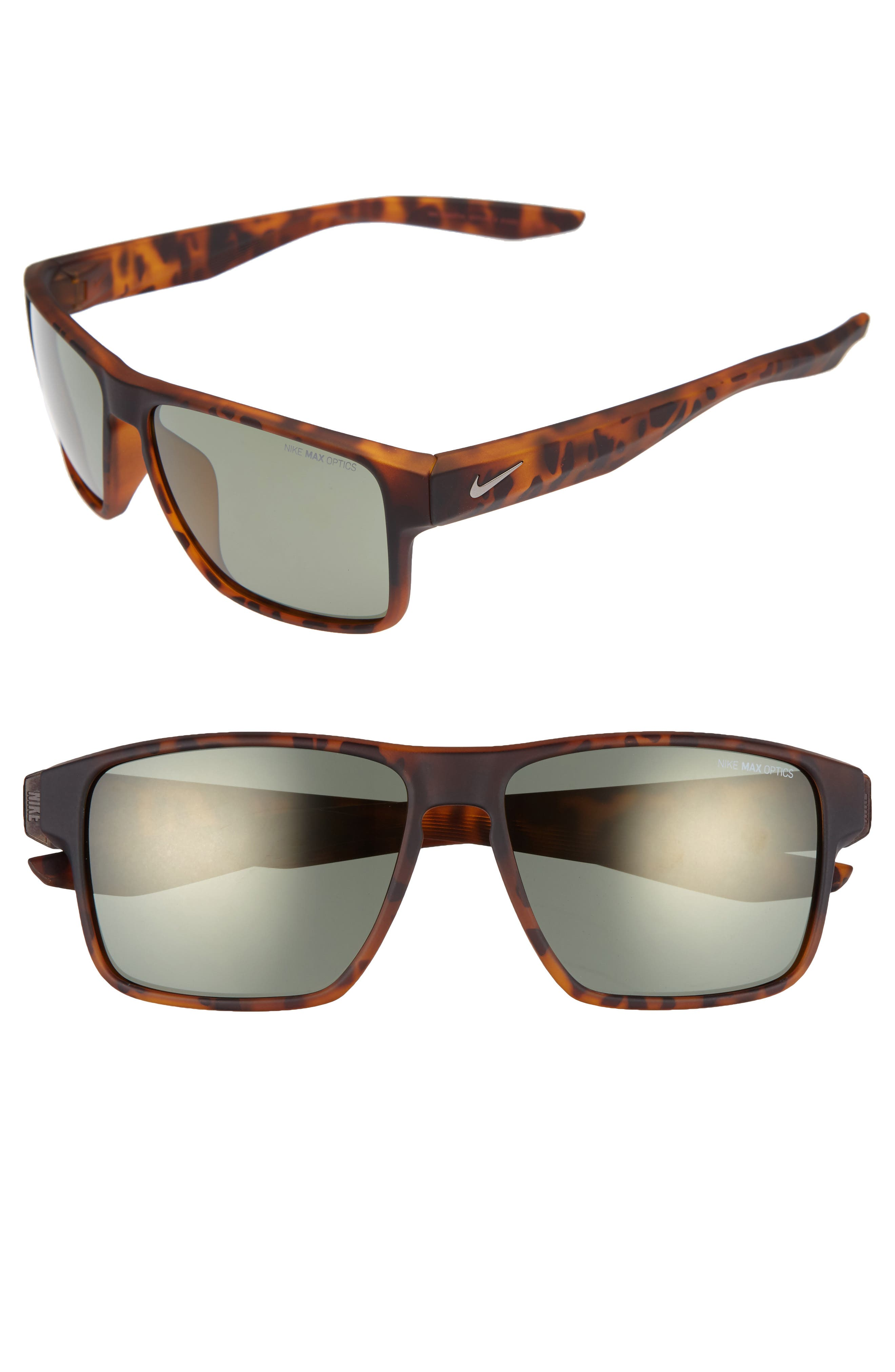 Essential Venture R 59mm Sunglasses,                         Main,                         color, MATTE TORTOISE