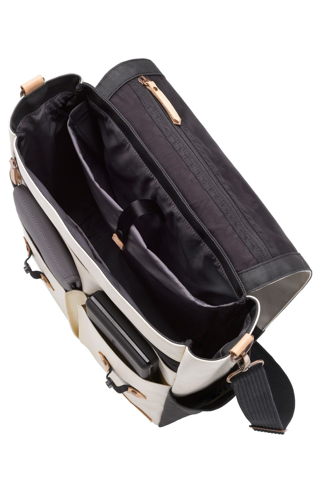 Pathway Backpack Diaper Tote,                             Alternate thumbnail 2, color,                             BIRCH/ BLACK