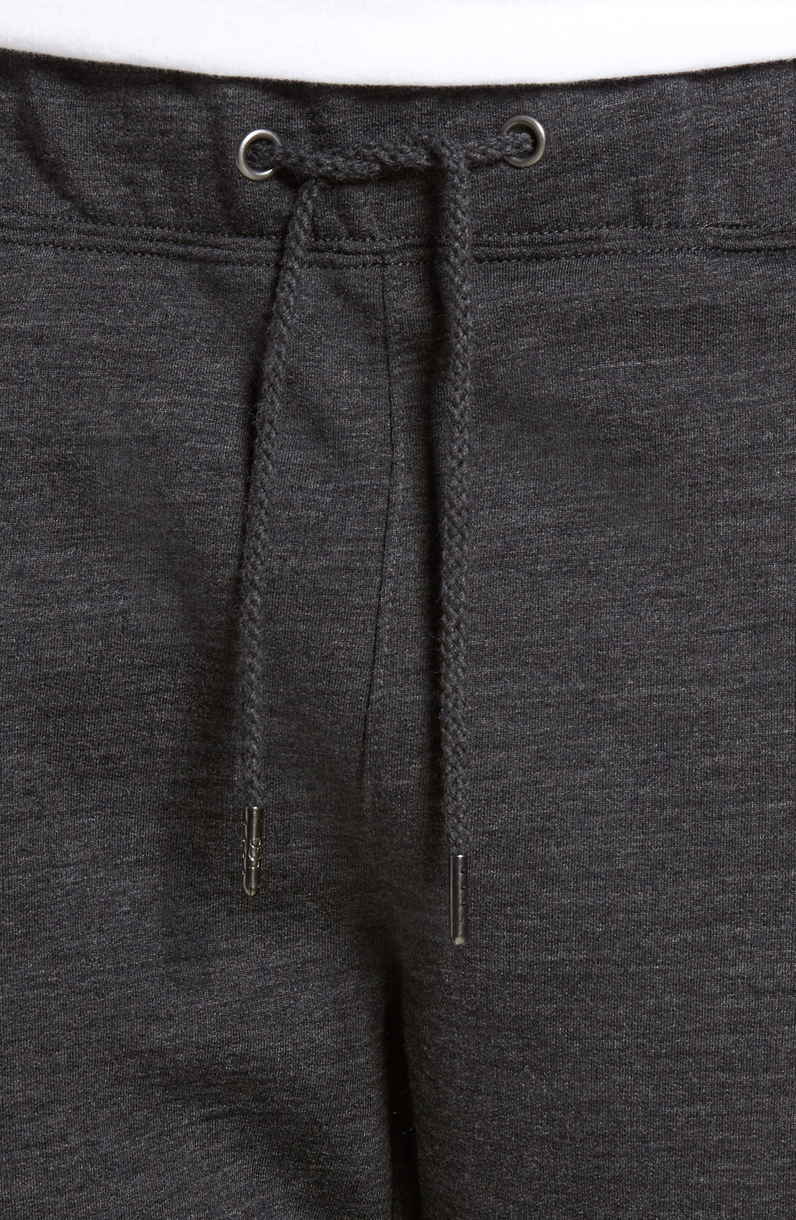 Merino Wool Fleece Jogger Pants,                             Alternate thumbnail 4, color,