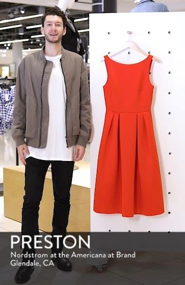 Fit & Flare Scuba Dress, sales video thumbnail