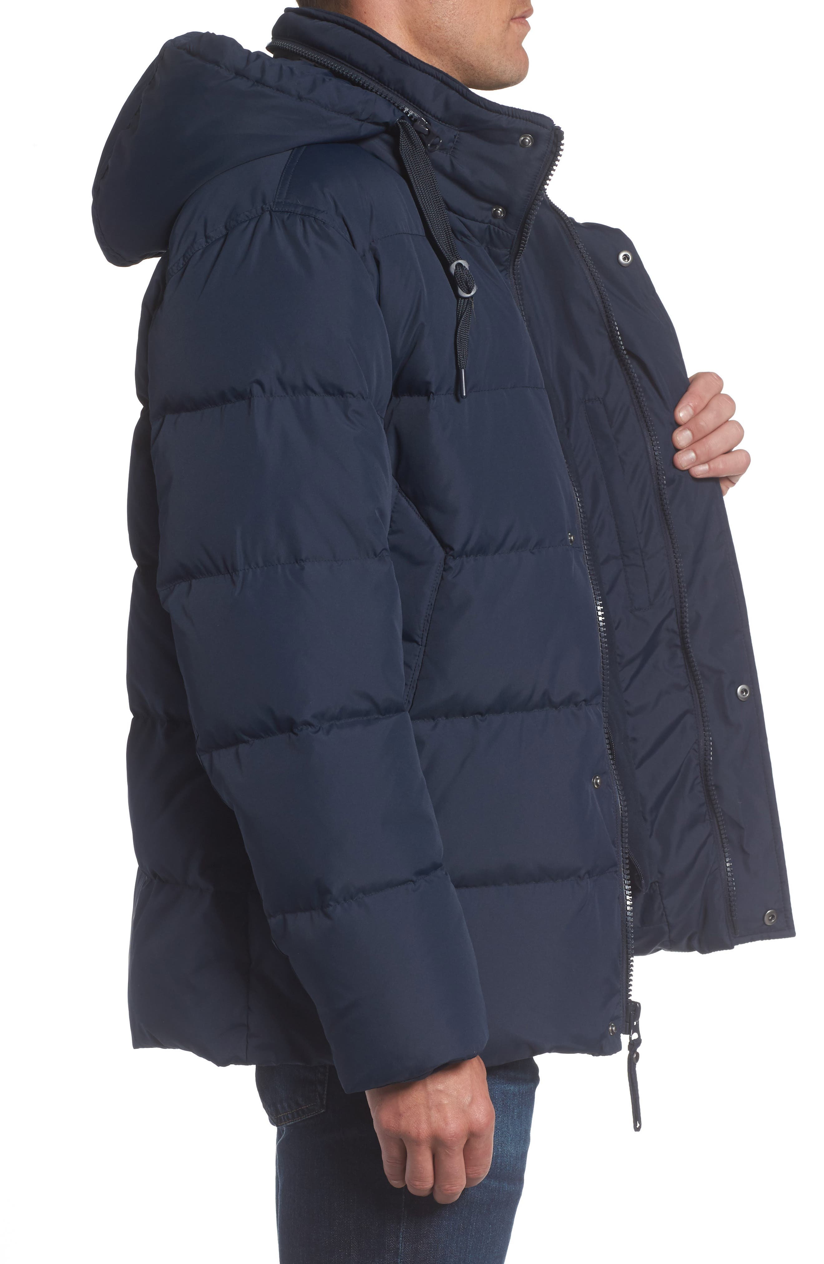 Andrew Marc Carlton Quilted Parka,                             Alternate thumbnail 12, color,