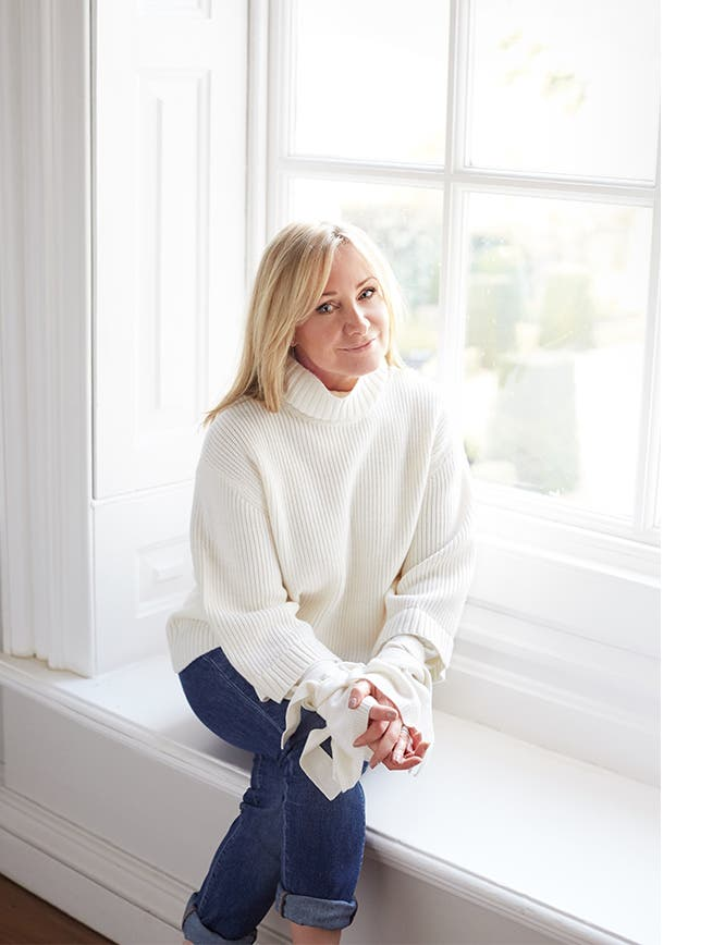 The White Company founder Chrissie Rucker.