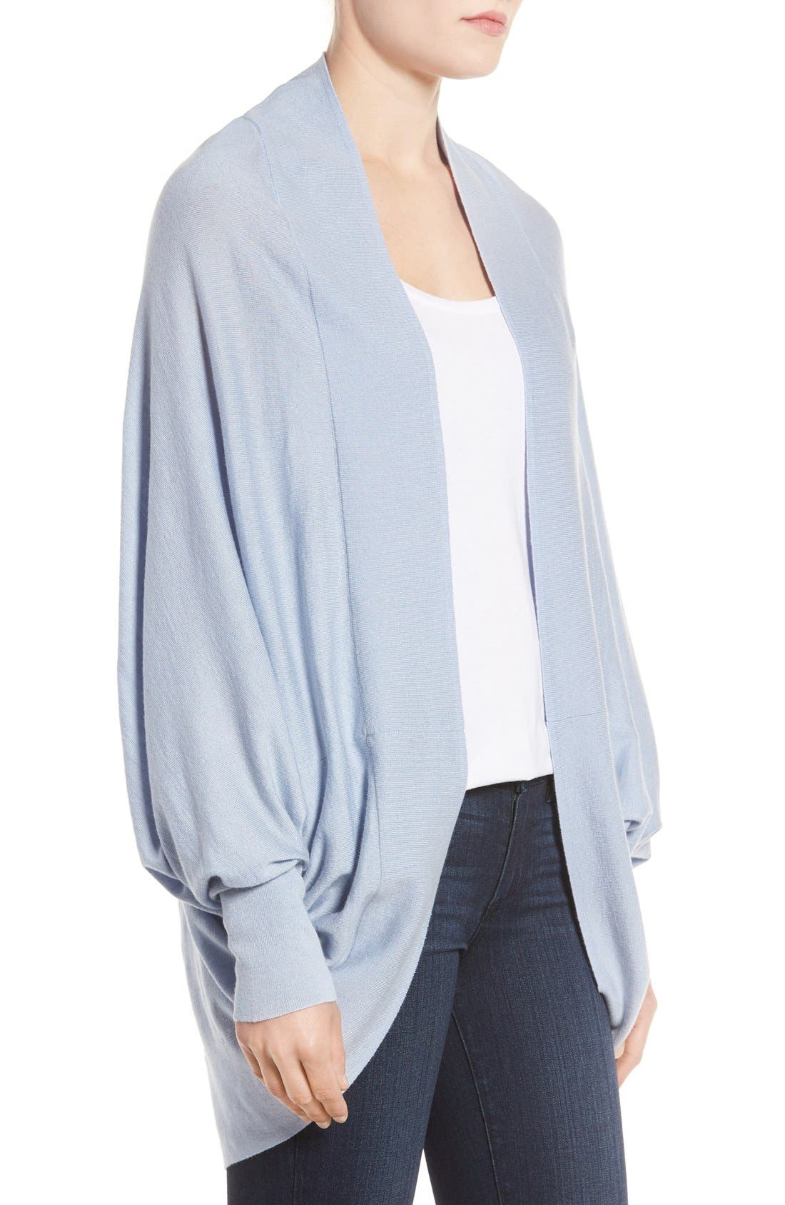 Knit Cocoon Cardigan,                             Alternate thumbnail 39, color,