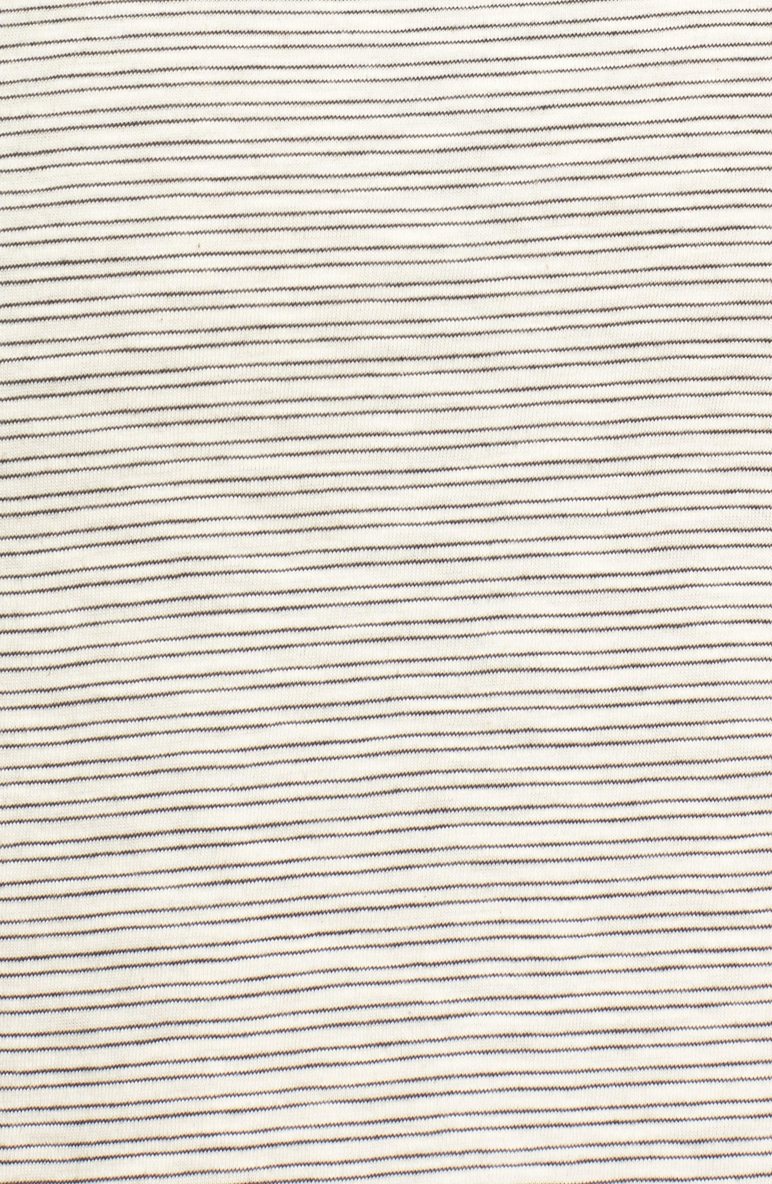 Side Knot Tee Dress,                             Alternate thumbnail 5, color,                             900