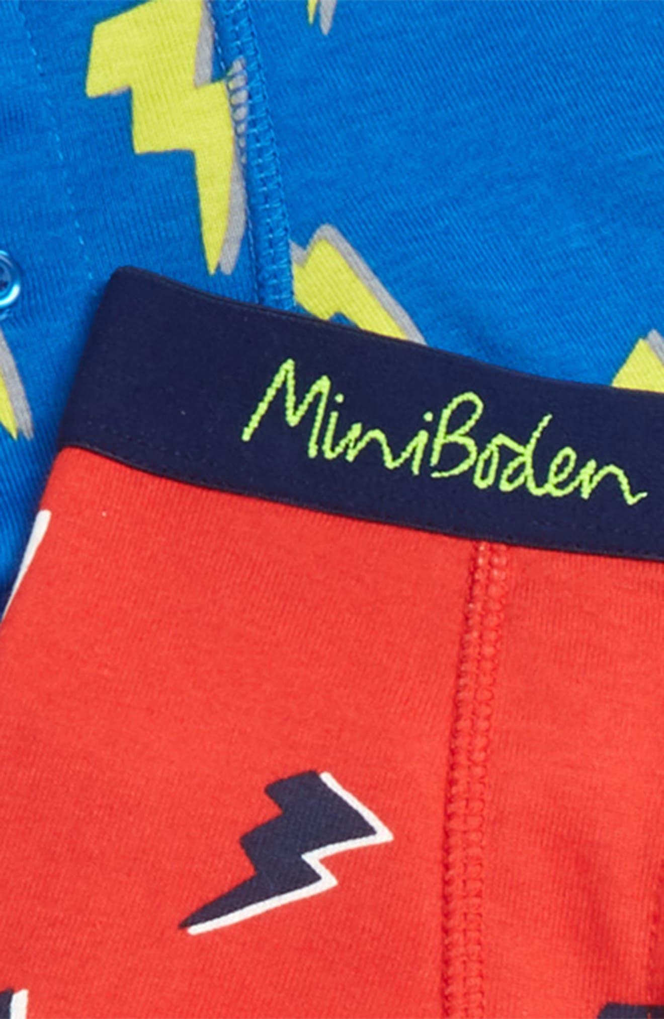5-Pack Boxer Briefs,                             Alternate thumbnail 2, color,                             GREEN