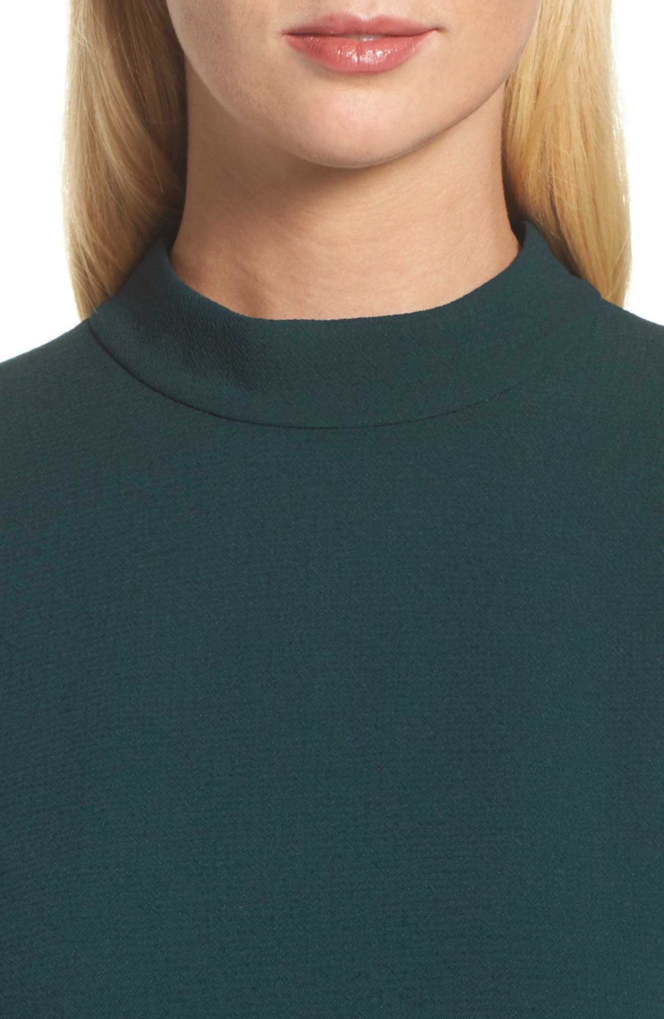 Bishop Sleeve Shift Dress,                             Alternate thumbnail 4, color,                             302