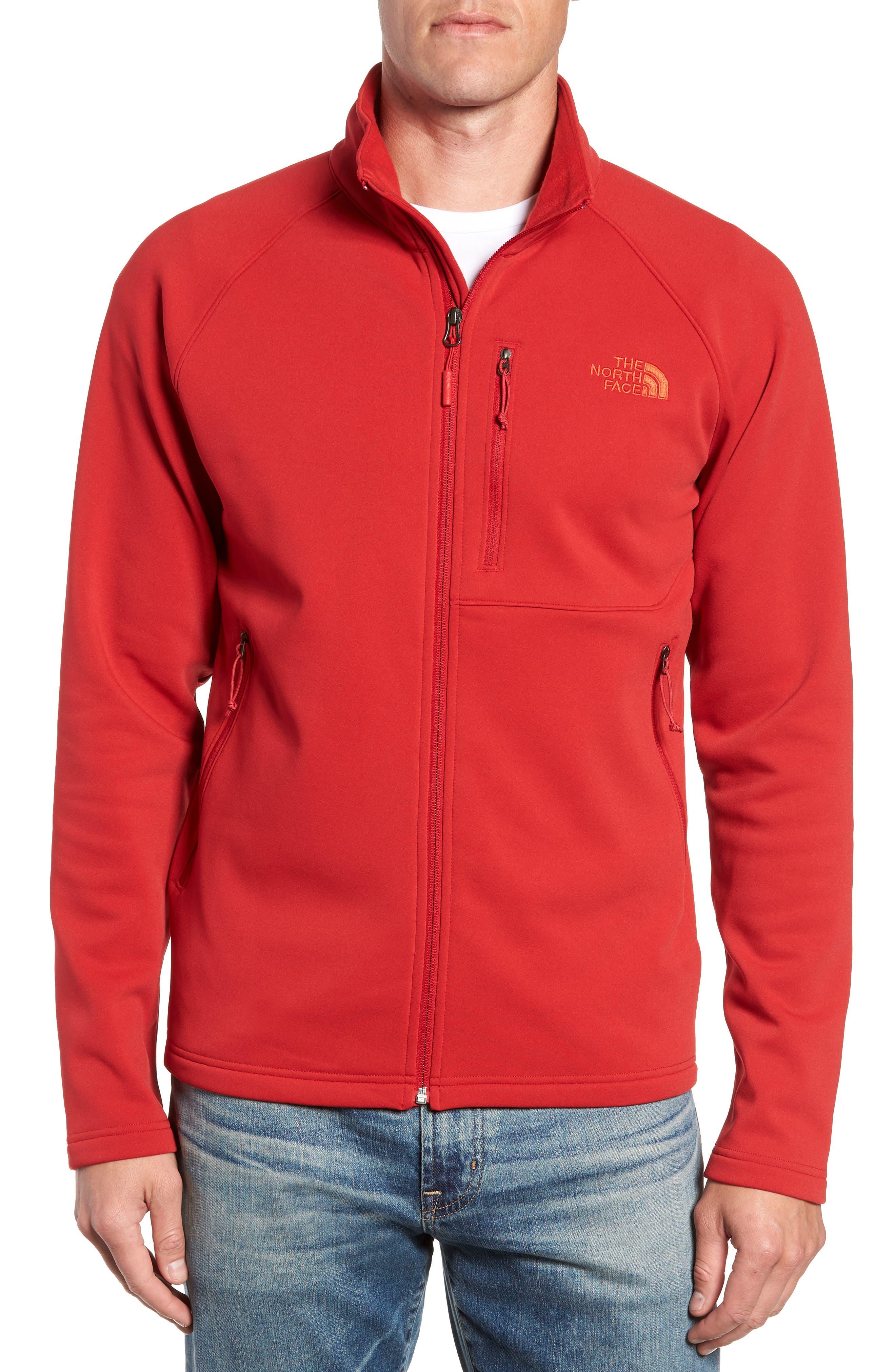 Tenacious Zip Jacket,                             Alternate thumbnail 4, color,                             RAGE RED