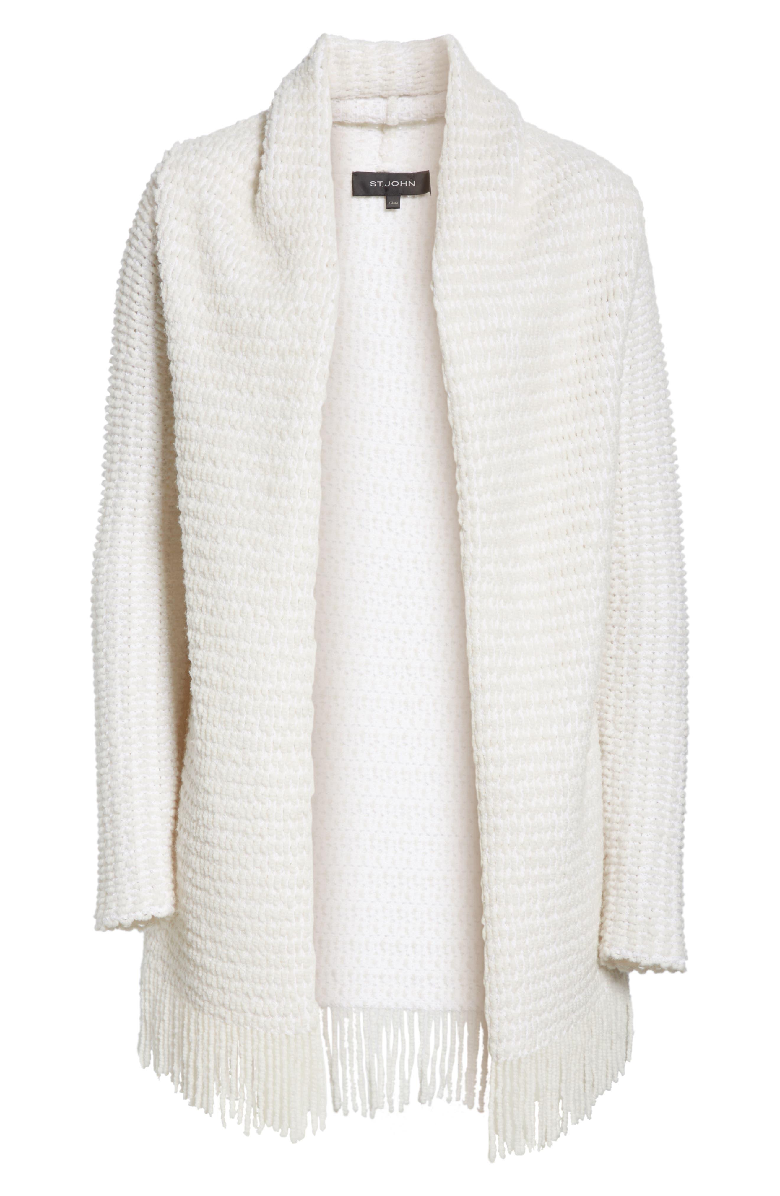 Textural Inlay Knit Cardigan,                             Alternate thumbnail 6, color,                             250