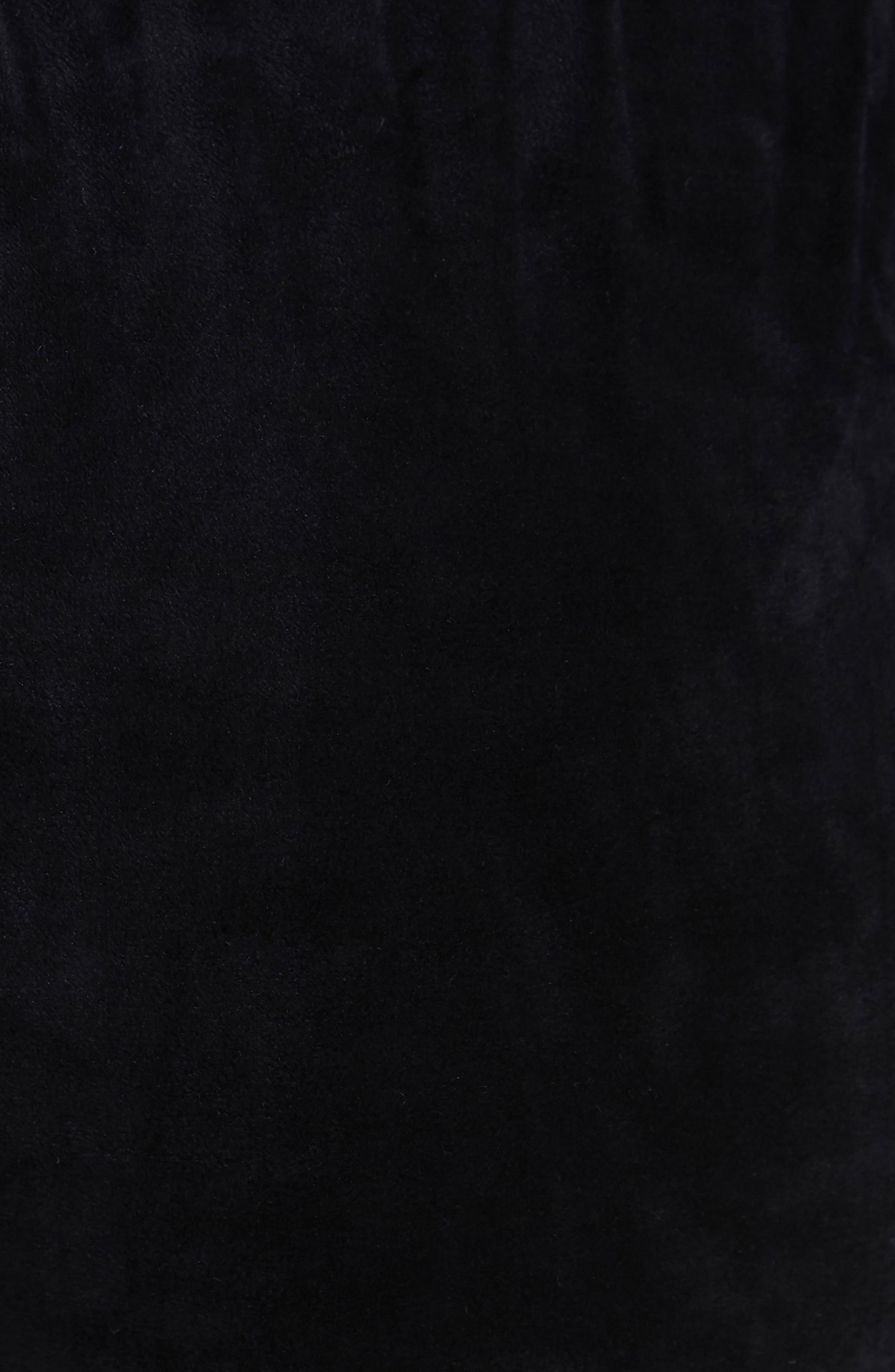 Rome Lace-Up Jogger Pants,                             Alternate thumbnail 4, color,                             001