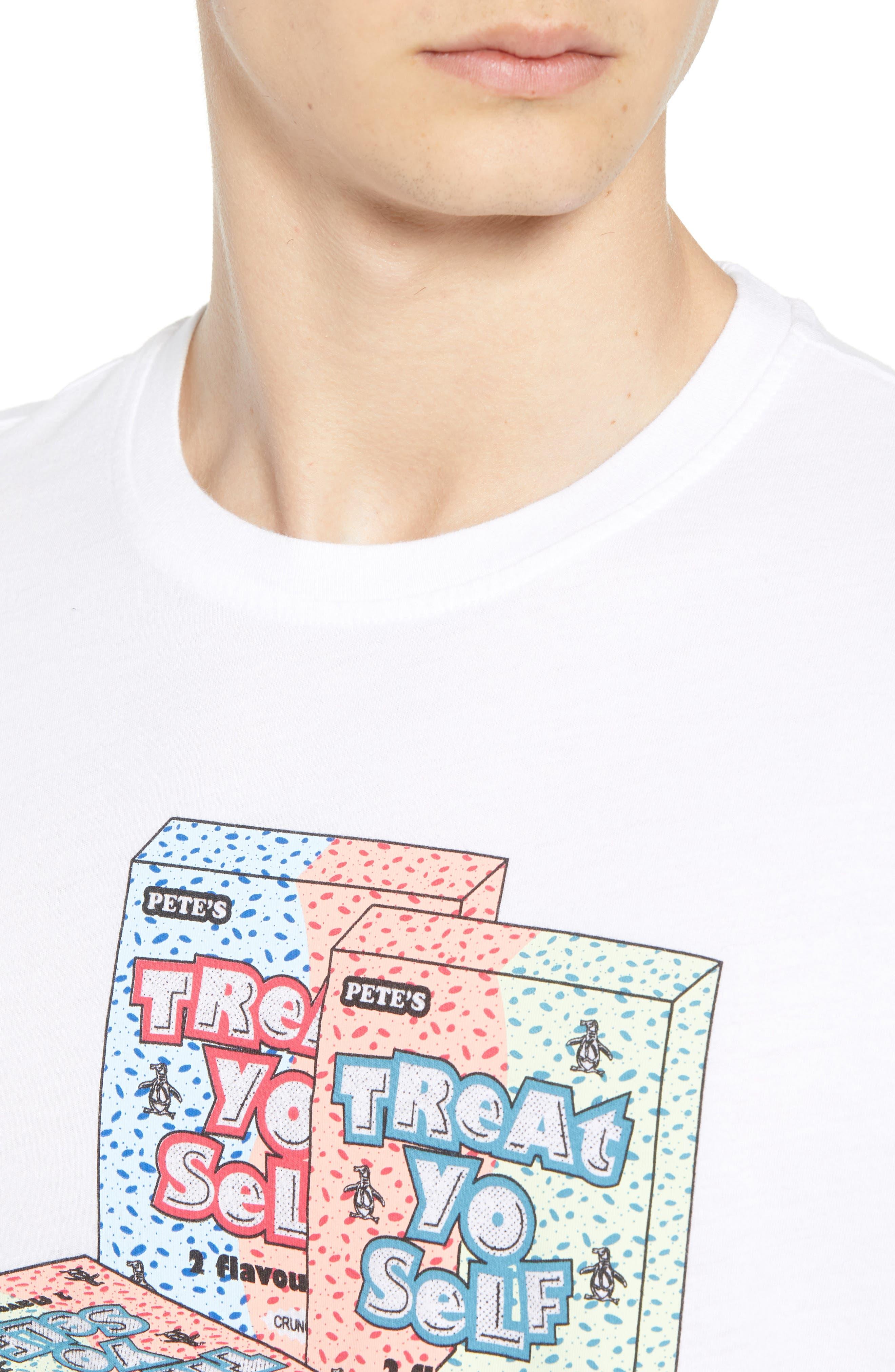 Treat Yo Self T-Shirt,                             Alternate thumbnail 6, color,