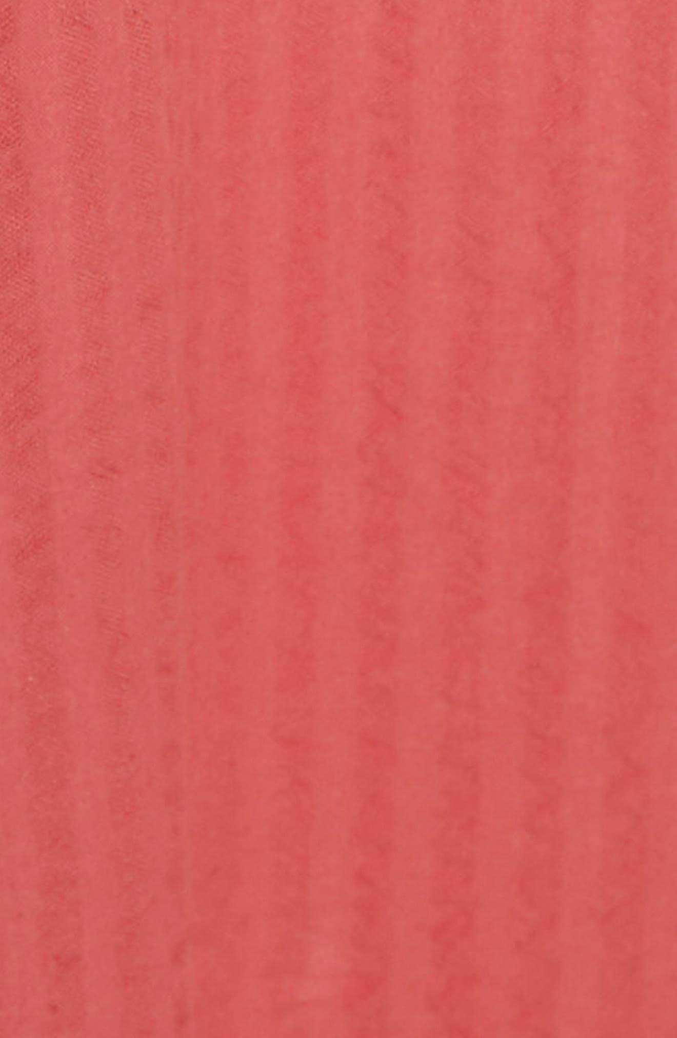 Cold Shoulder Seersucker Dress,                             Alternate thumbnail 5, color,                             612