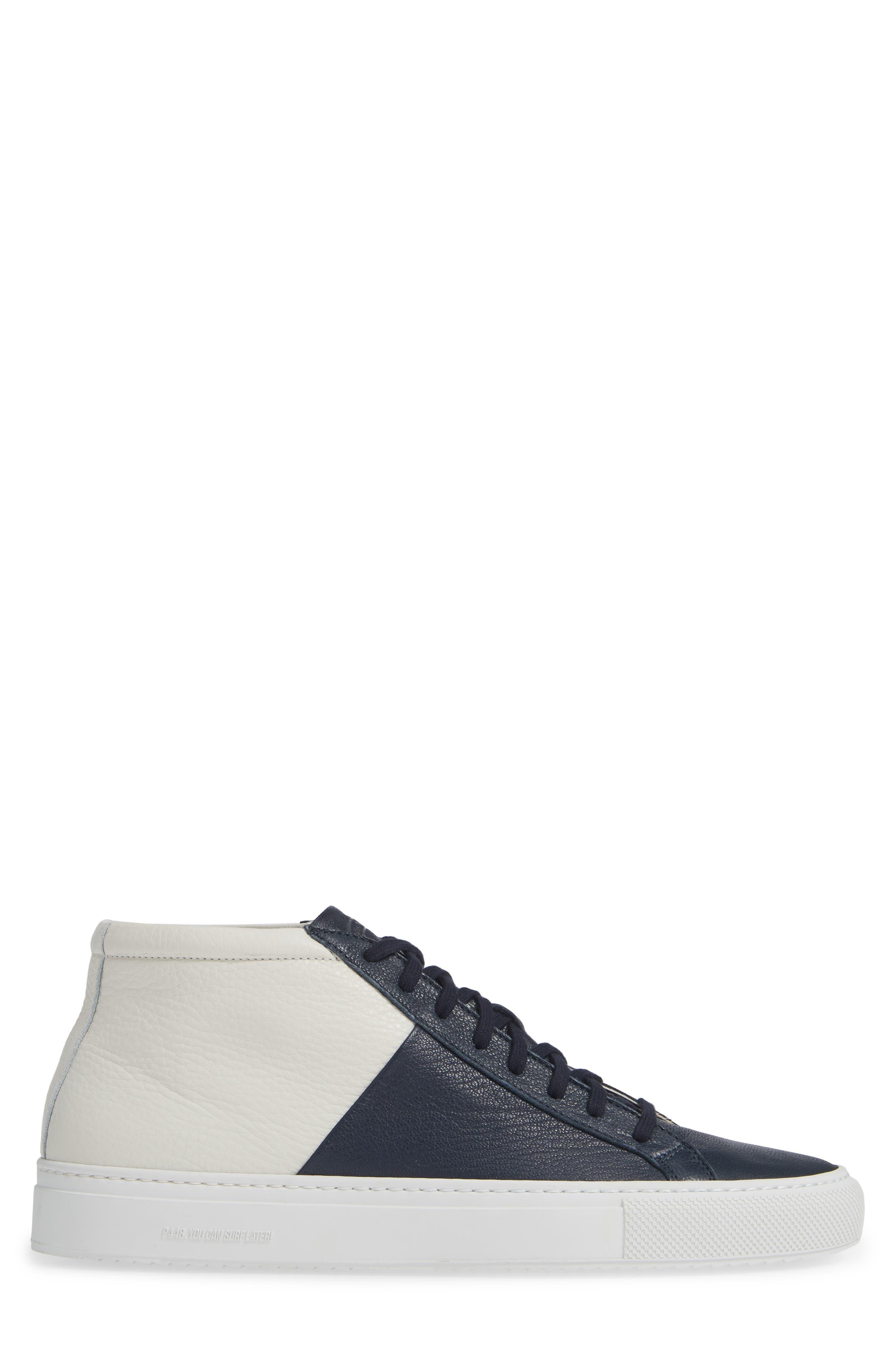 Eleven C Sneaker,                             Alternate thumbnail 3, color,                             NAVY