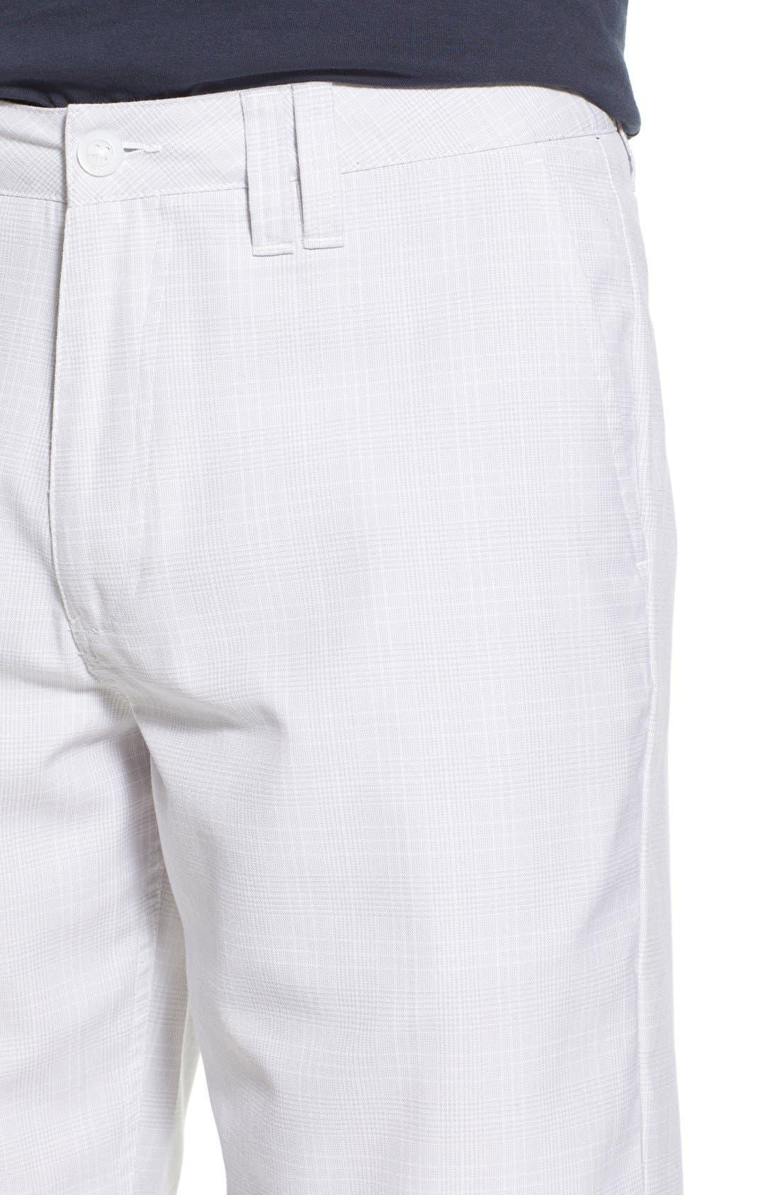 'Delta Plaid' Chino Shorts,                             Alternate thumbnail 18, color,