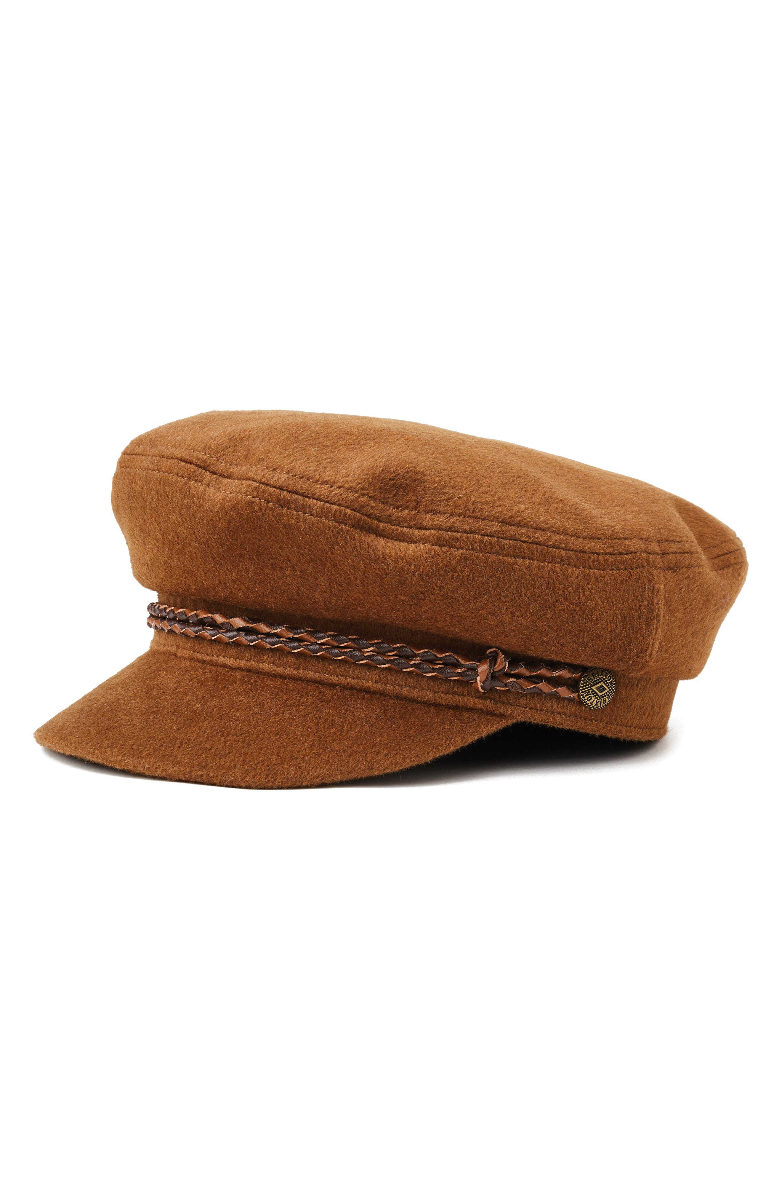 Ashland Fisherman Cap,                         Main,                         color, COFFEE