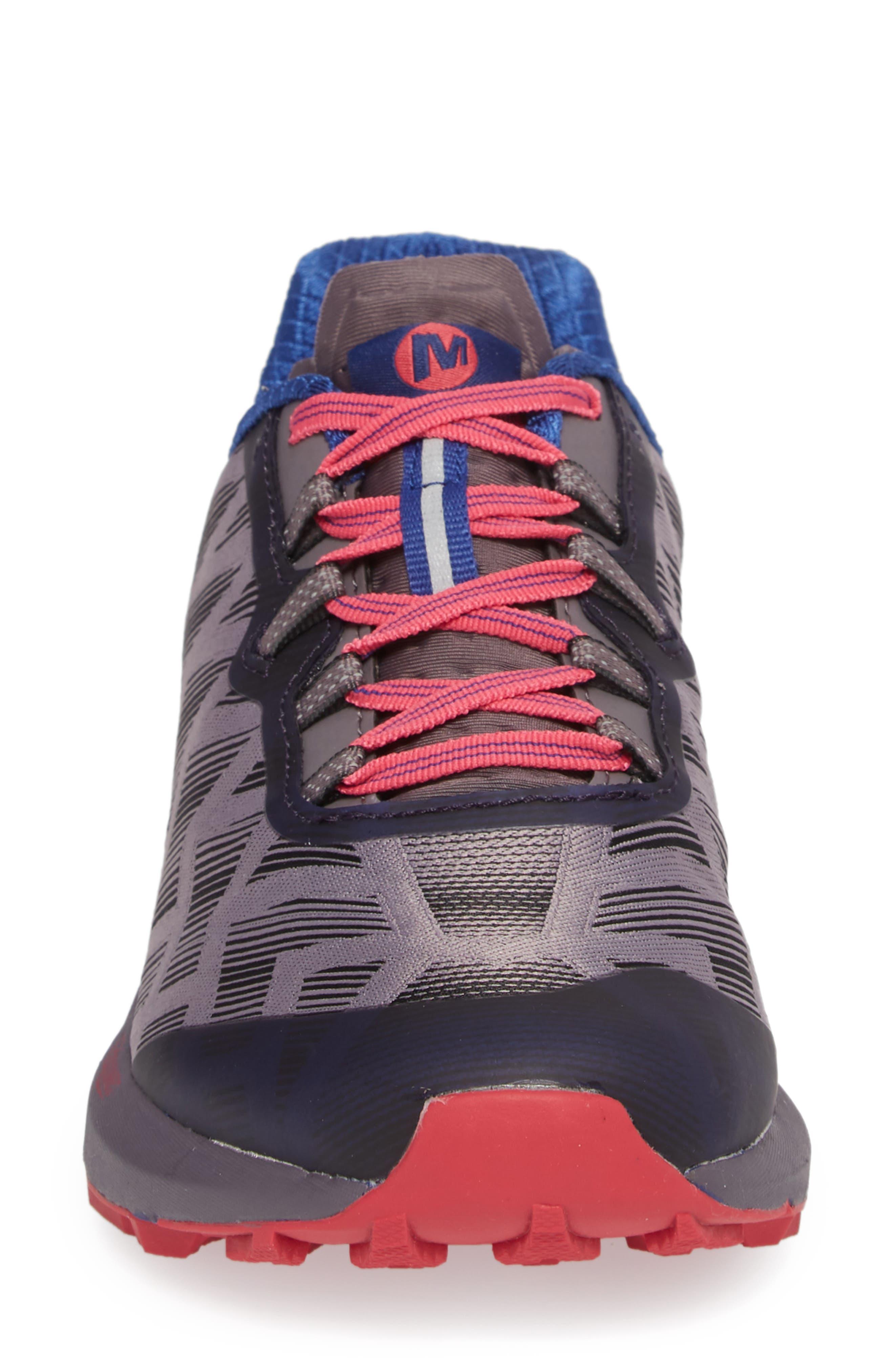 Agility Synthesis Flex Sneaker,                             Alternate thumbnail 4, color,                             SHARK FABRIC