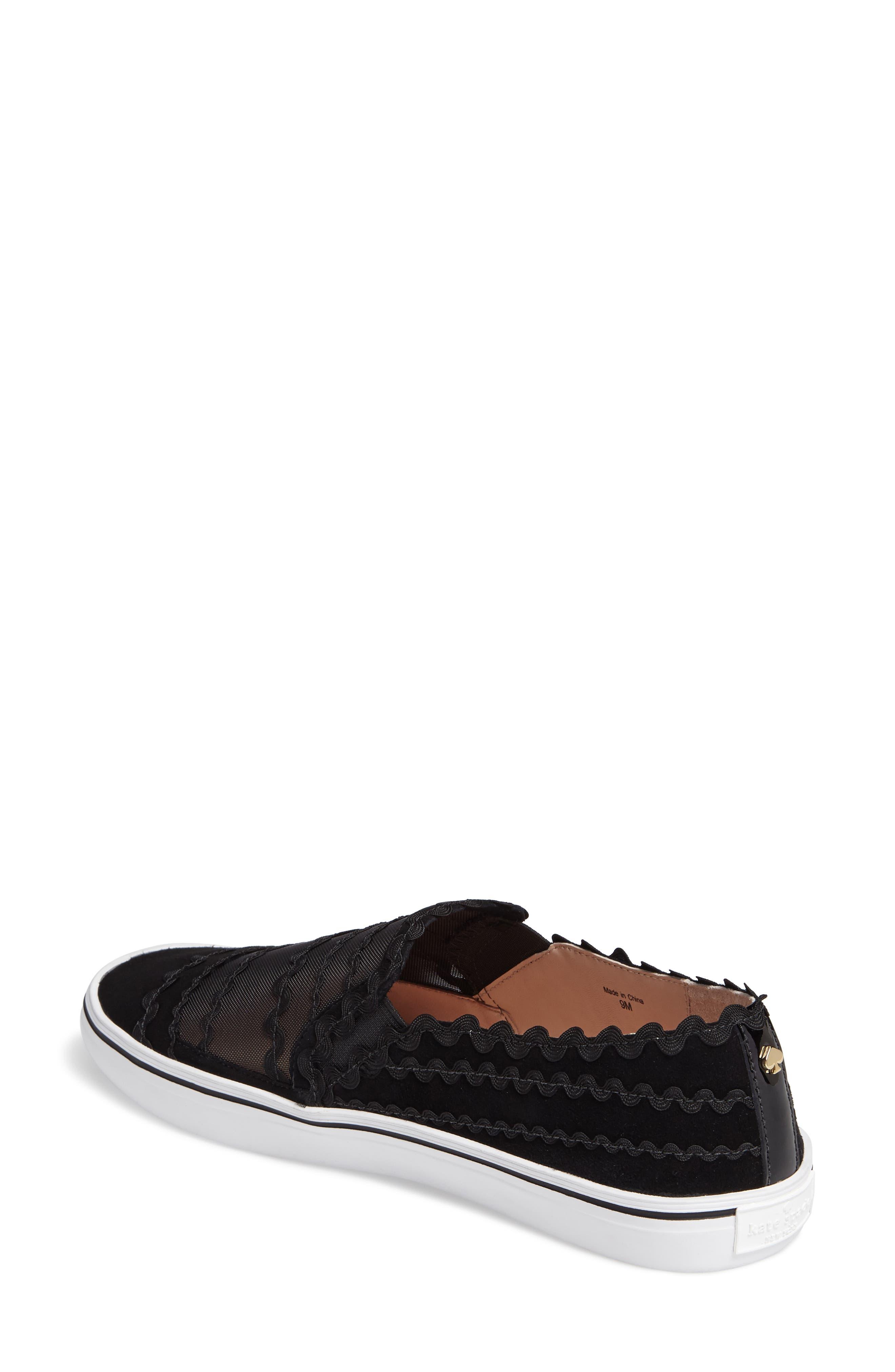 senza slip-on sneaker,                             Alternate thumbnail 2, color,                             001