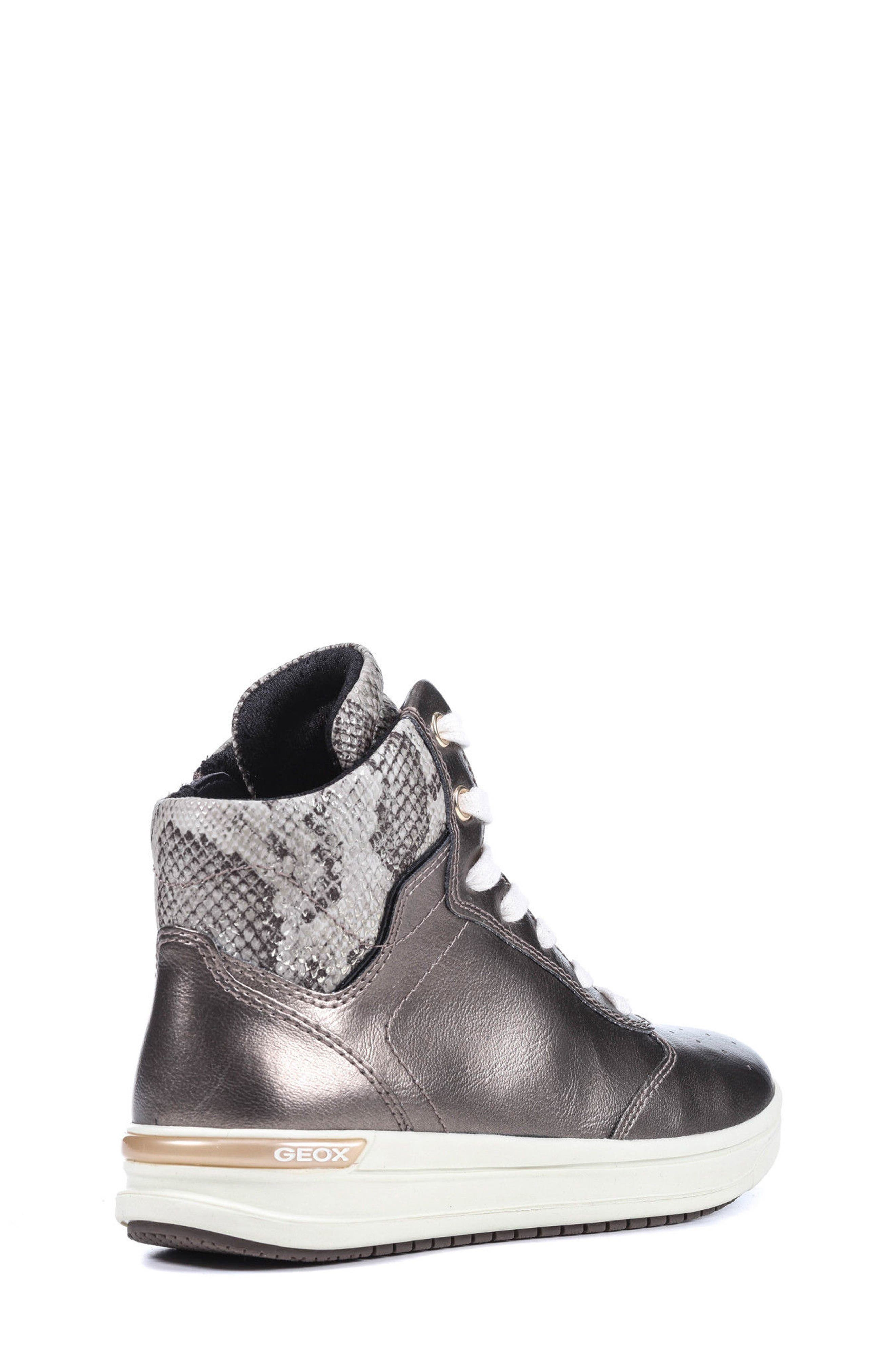 Cave Up Girl High Top Sneaker,                             Alternate thumbnail 4, color,