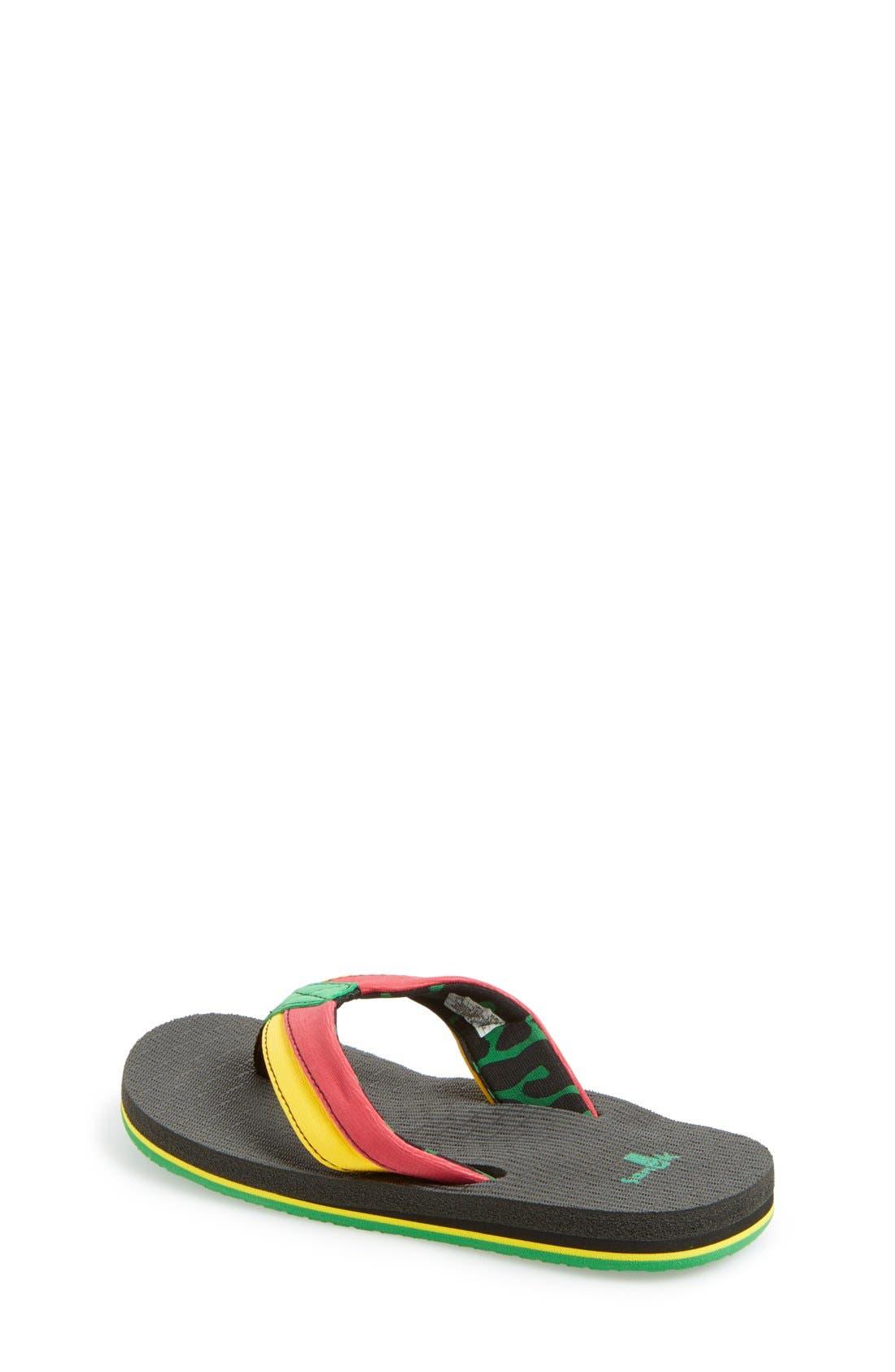 'Rootbeer Cozy' Lightweight Flip Flop Sandal,                             Alternate thumbnail 18, color,