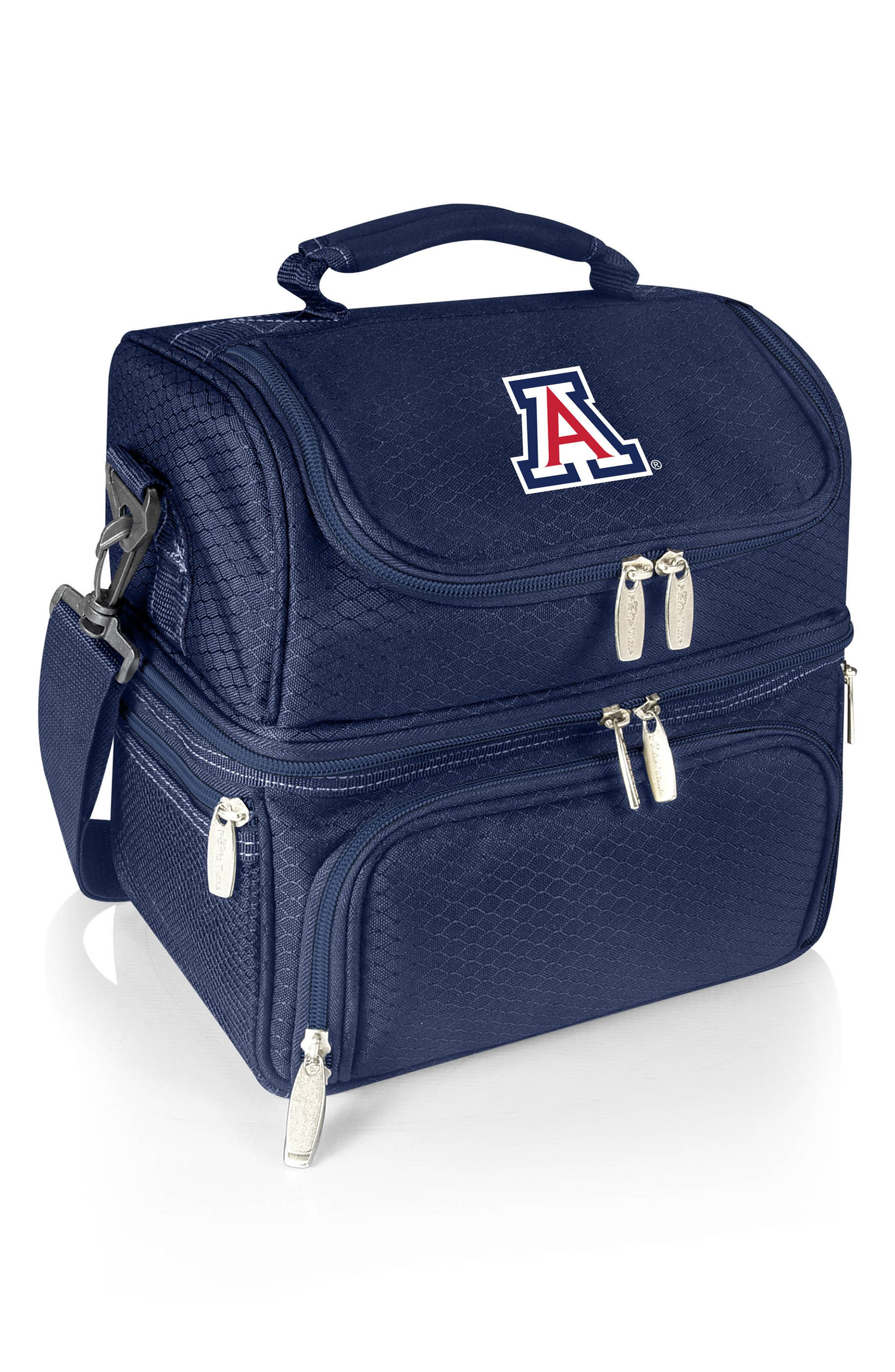 Navy Pranzo College Team Logo Lunch Tote,                             Main thumbnail 1, color,                             400